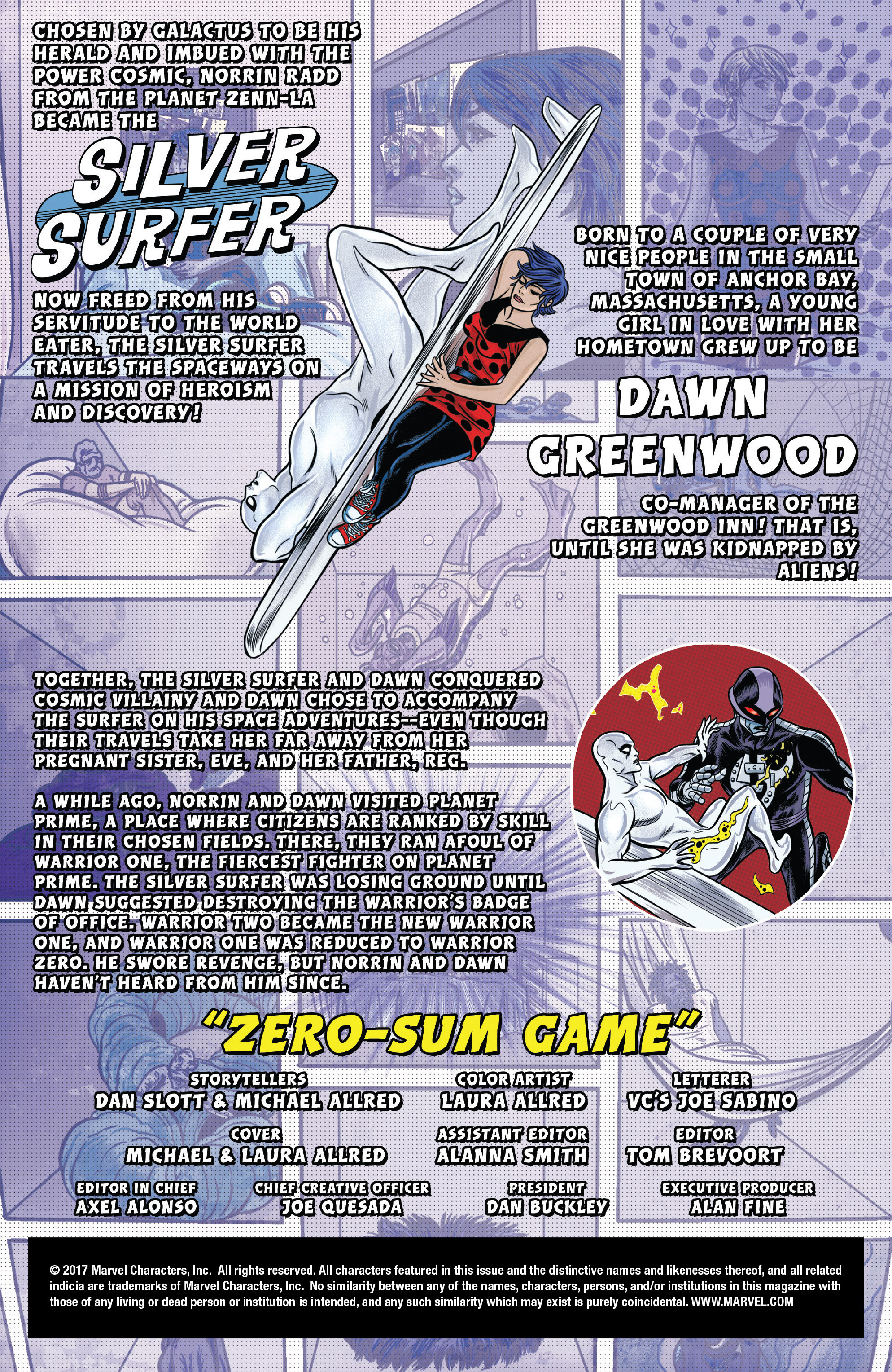 Read online Silver Surfer (2016) comic -  Issue #11 - 2