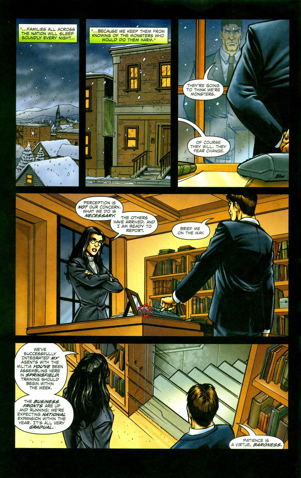 Read online Snake Eyes: Declassified comic -  Issue #6 - 6