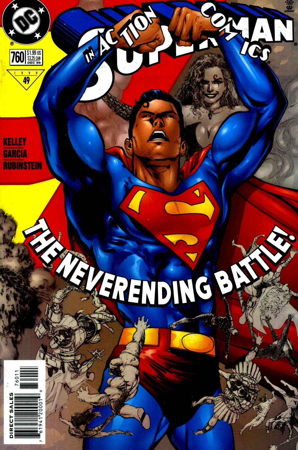 Read online Action Comics (1938) comic -  Issue #760 - 1