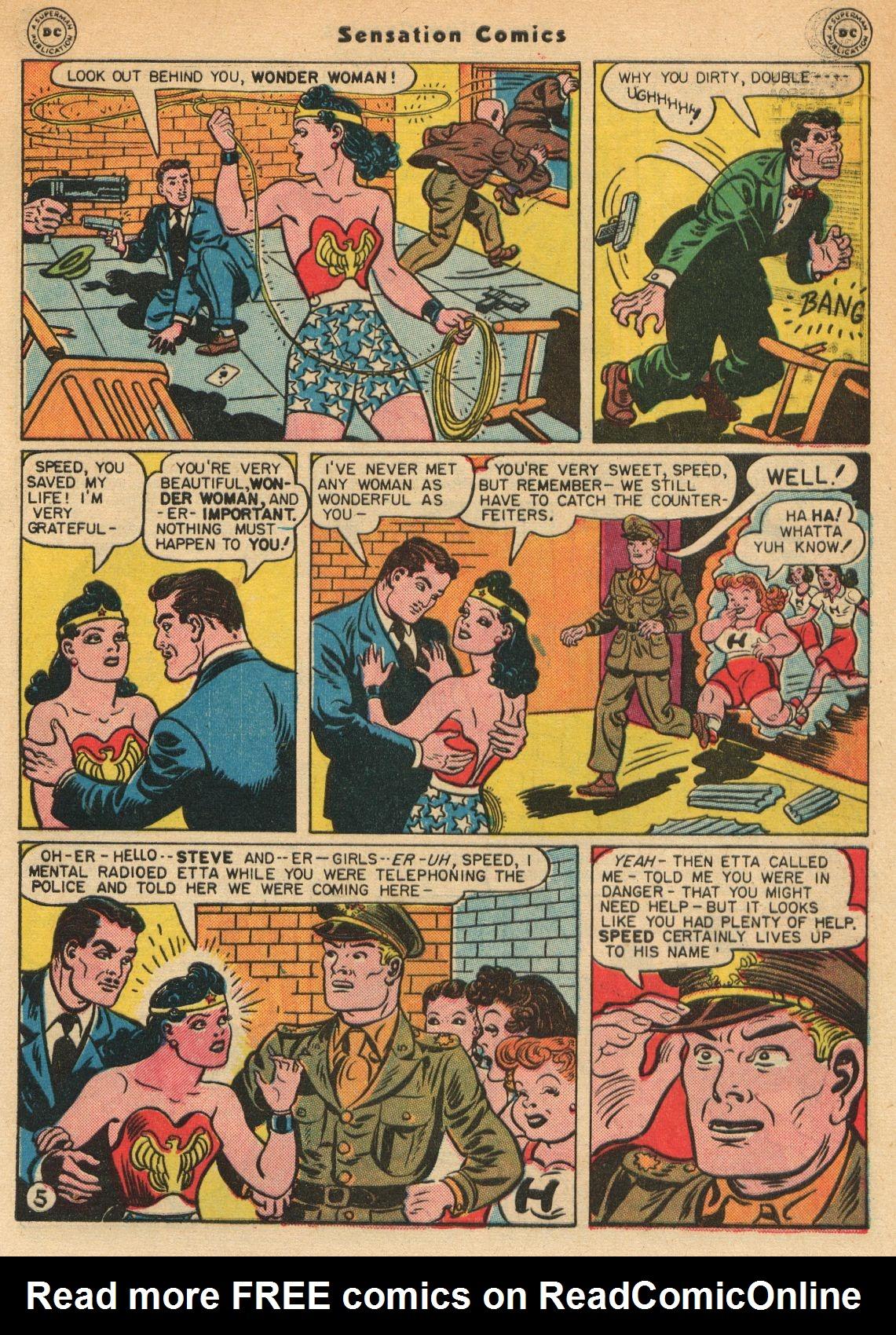 Read online Sensation (Mystery) Comics comic -  Issue #51 - 7