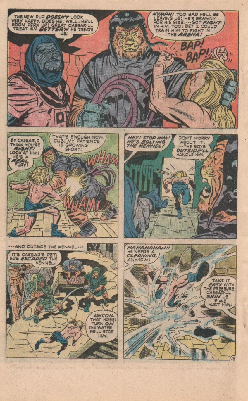 Kamandi, The Last Boy On Earth issue 32 - Page 47