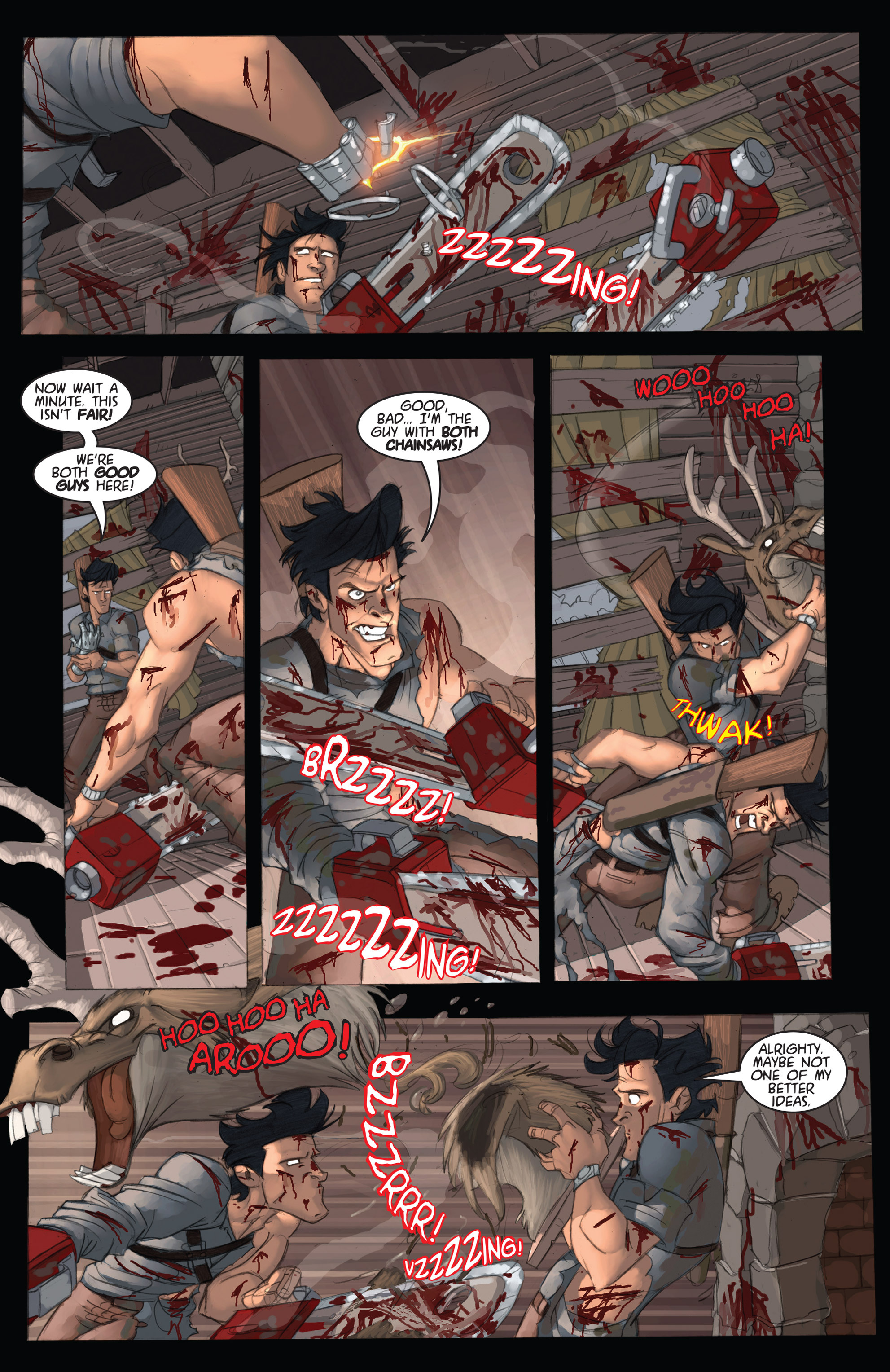 Read online Army of Darkness: Ashes 2 Ashes comic -  Issue #2 - 20