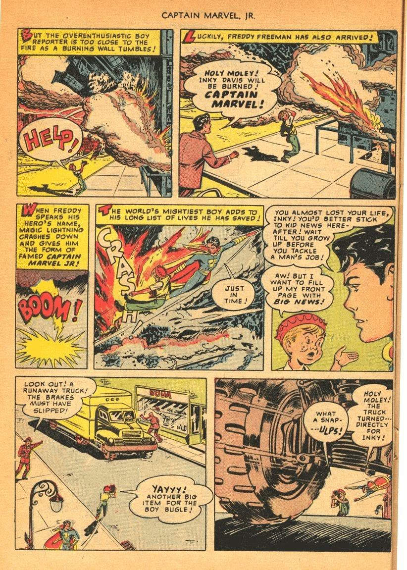 Captain Marvel, Jr. issue 84 - Page 14