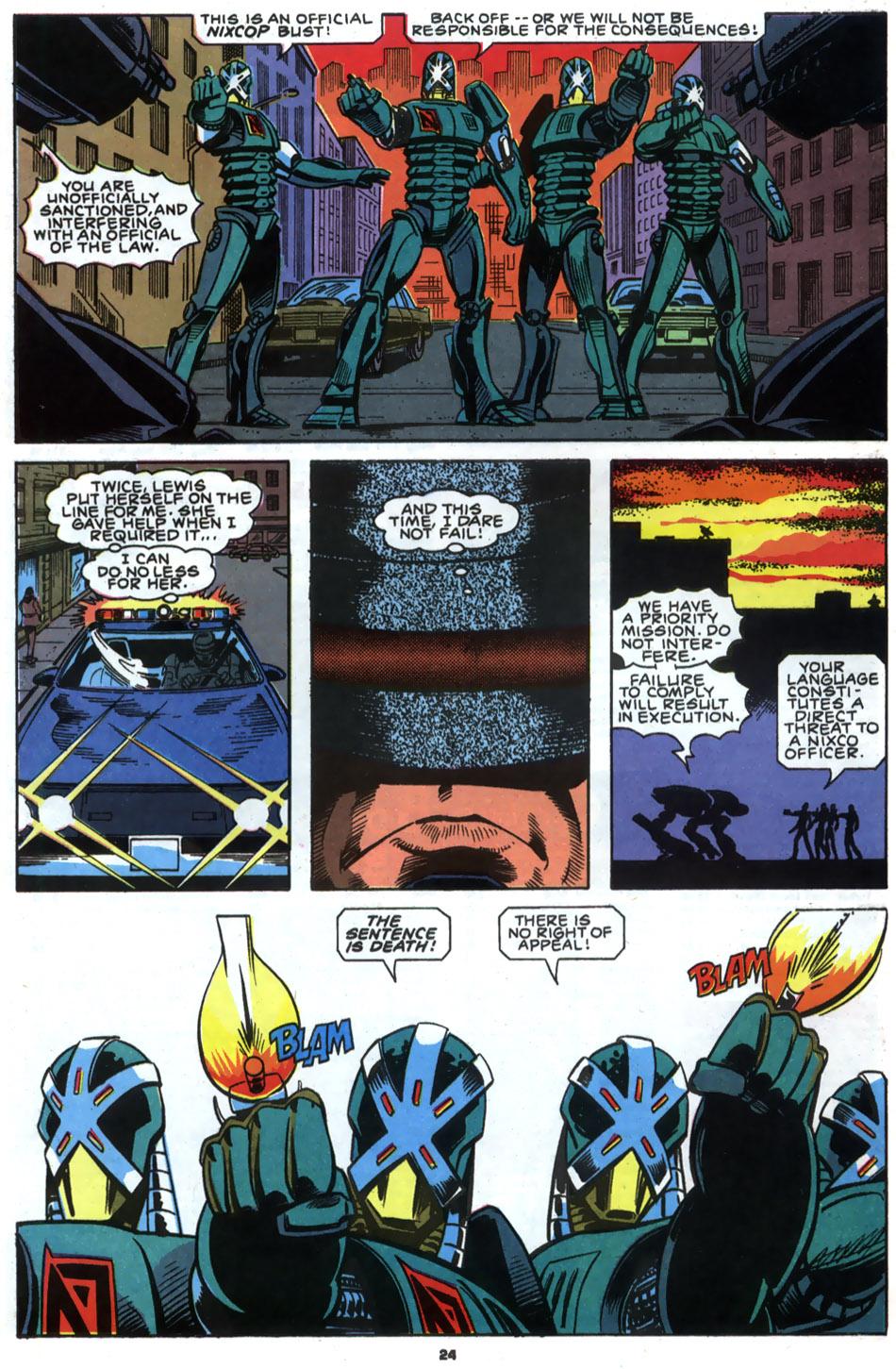 Read online Robocop (1990) comic -  Issue #2 - 19