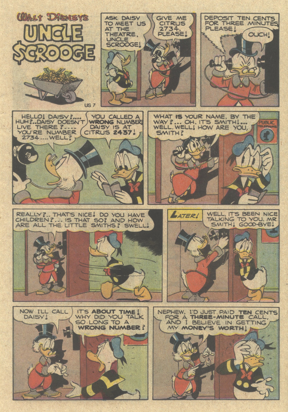Read online Uncle Scrooge (1953) comic -  Issue #220 - 15