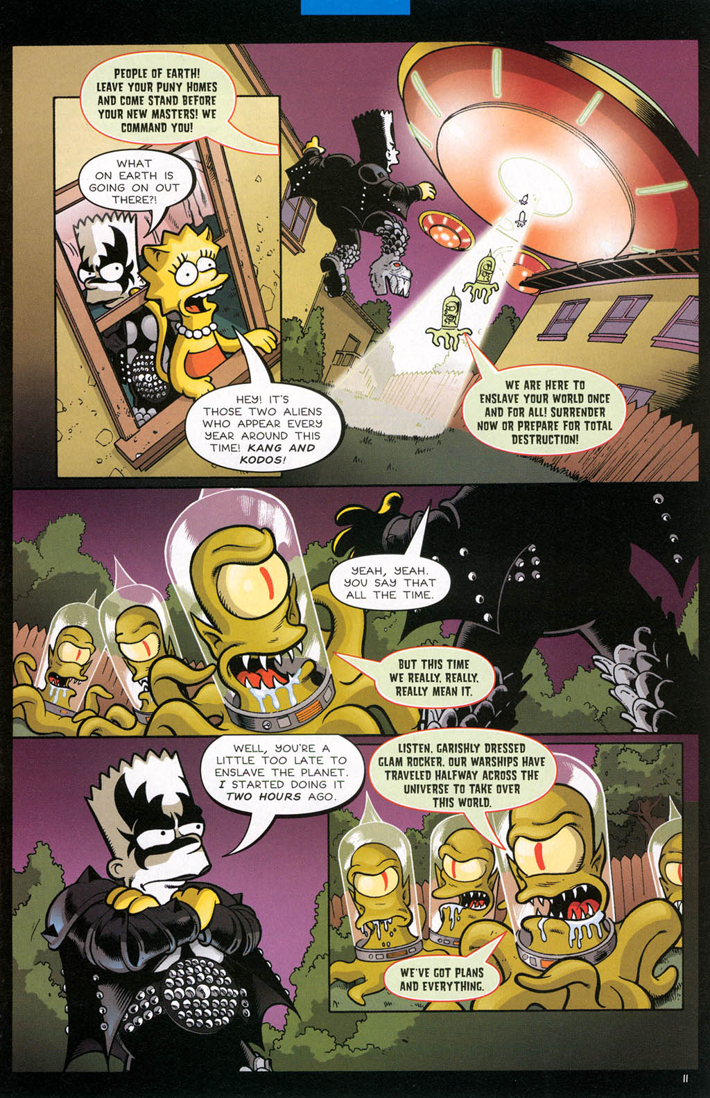 Read online Treehouse of Horror comic -  Issue #10 - 14