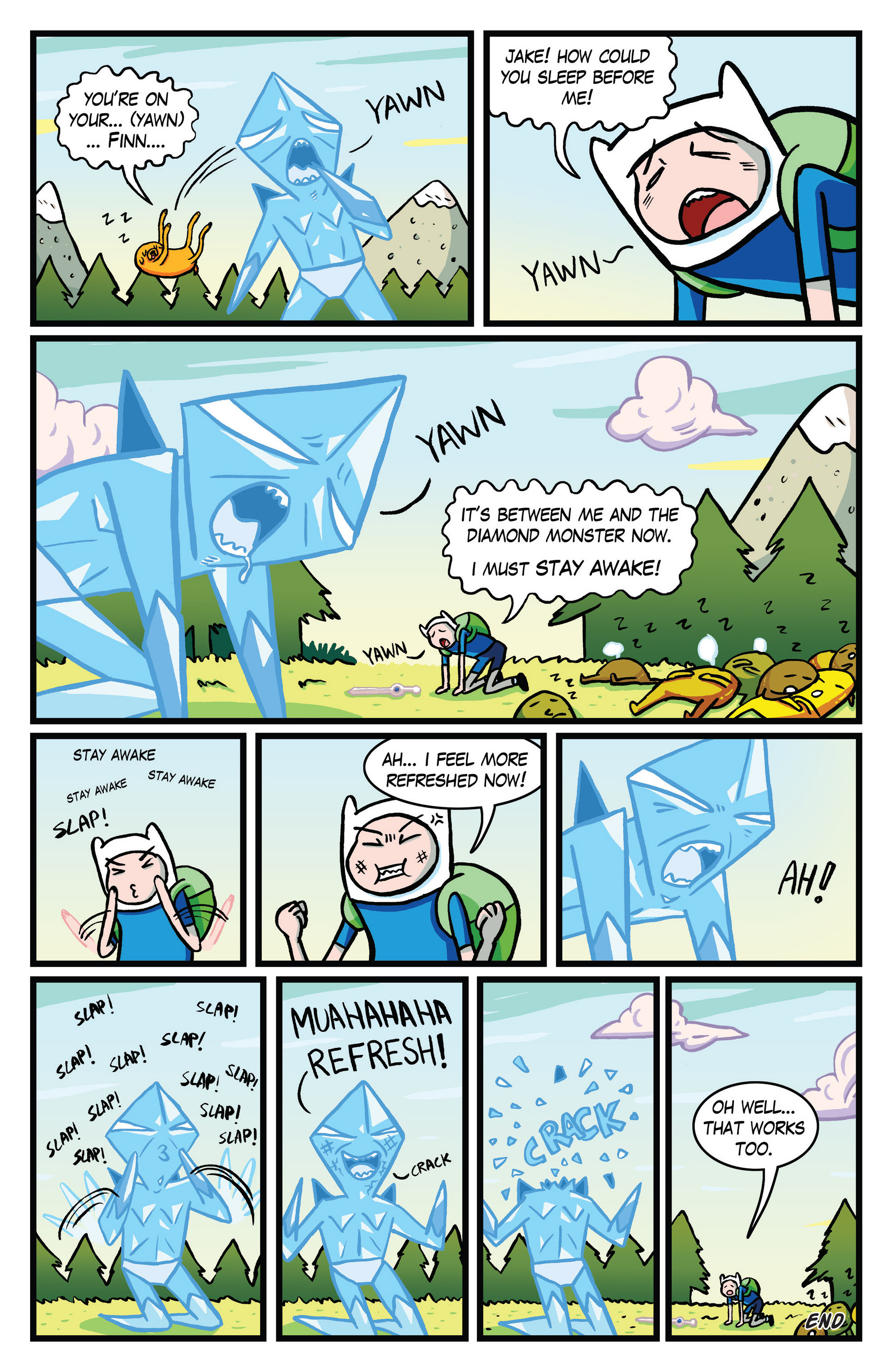 Read online Adventure Time Comics comic -  Issue #10 - 11
