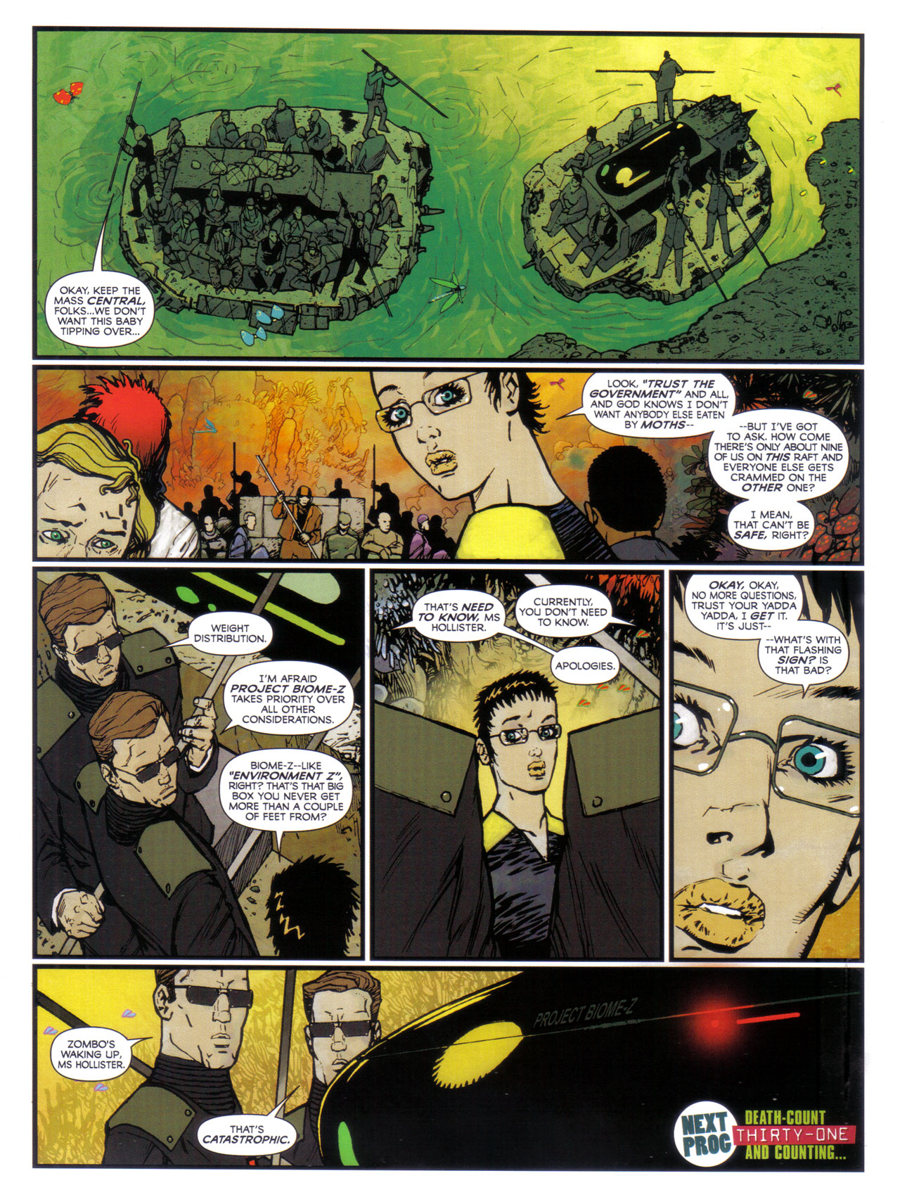 Read online 2000 AD comic -  Issue #1746 - 6