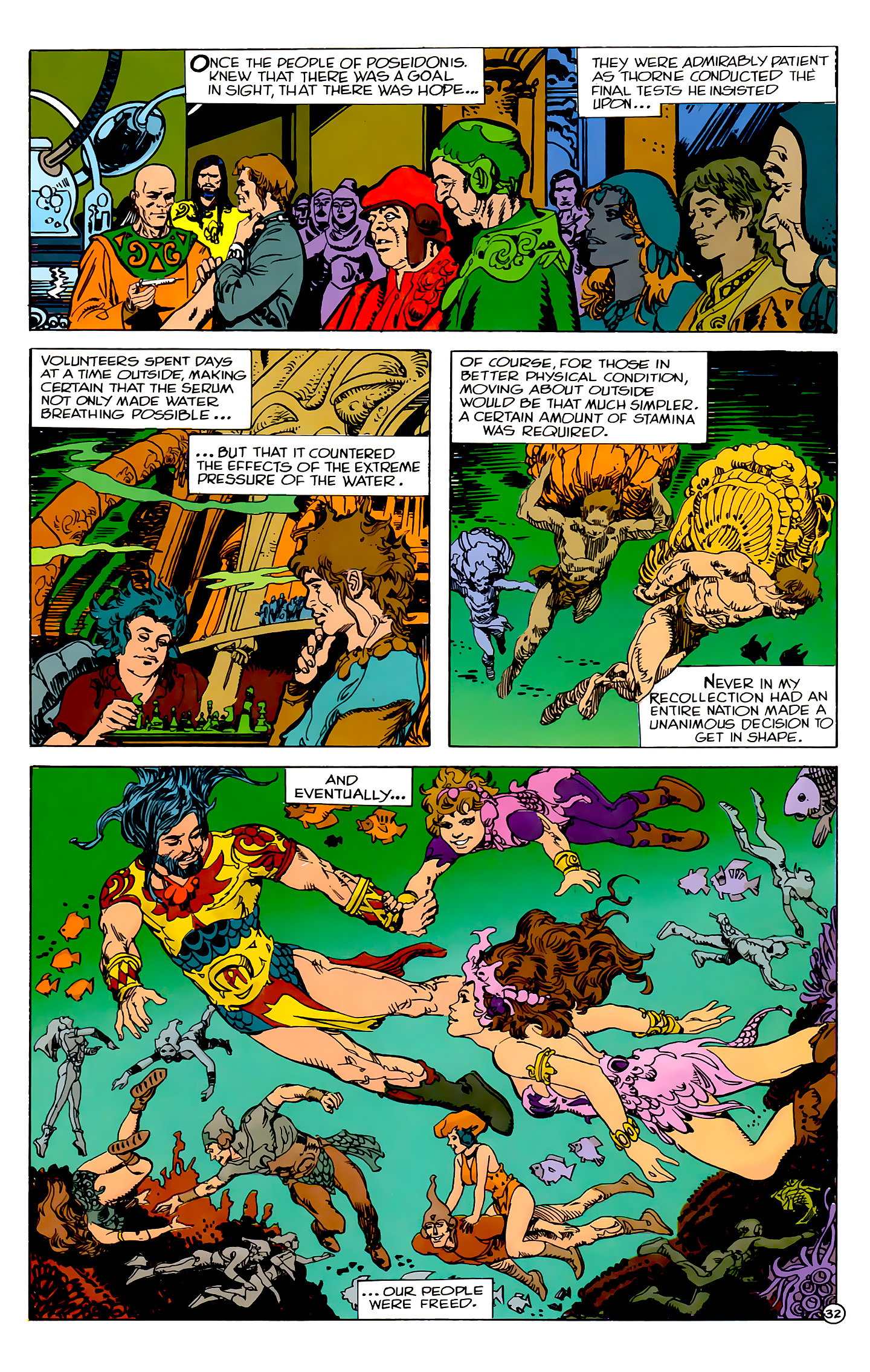 Read online Atlantis Chronicles comic -  Issue #2 - 32