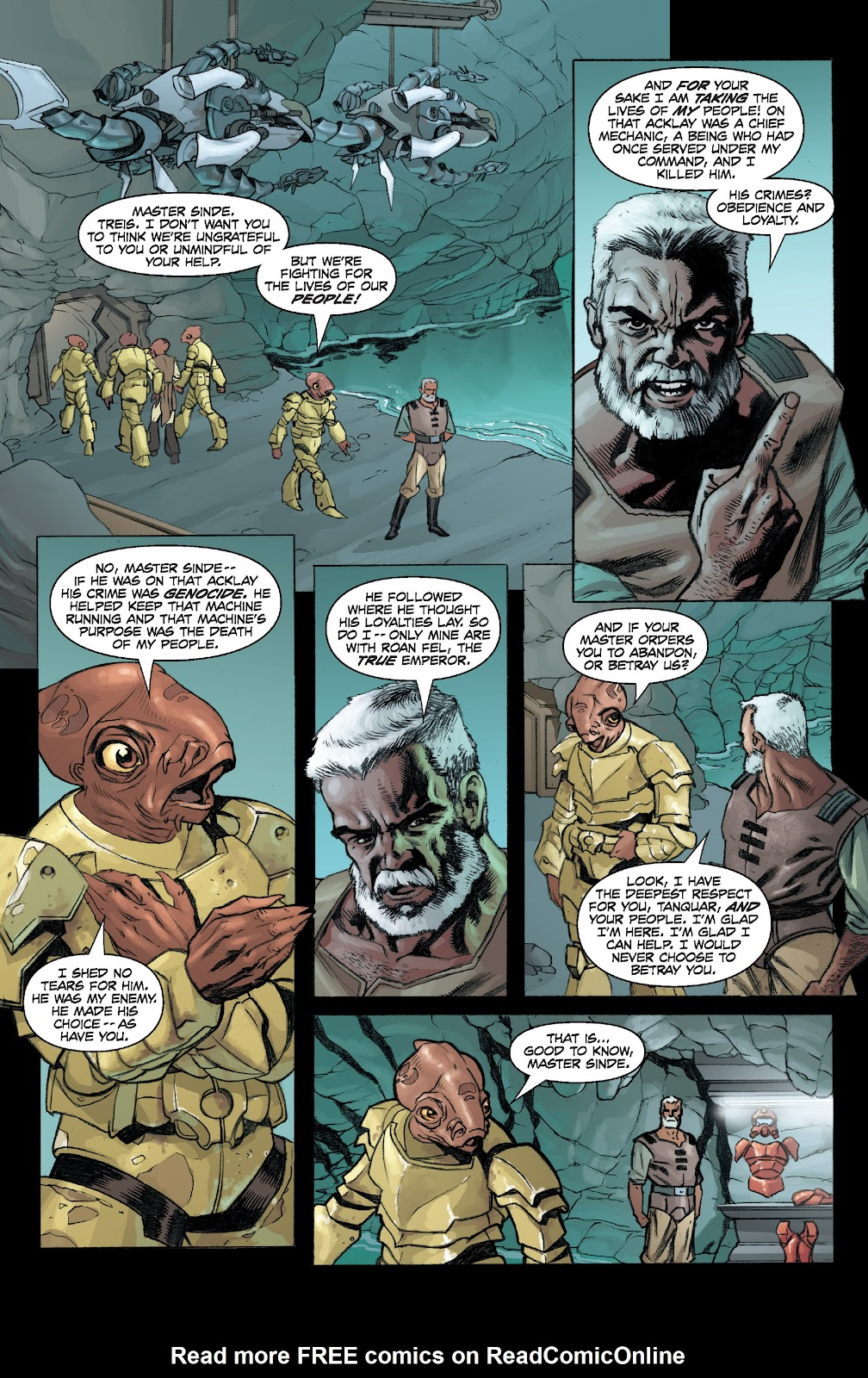 Read online Star Wars Legends: Legacy - Epic Collection comic -  Issue # TPB 2 (Part 4) - 9