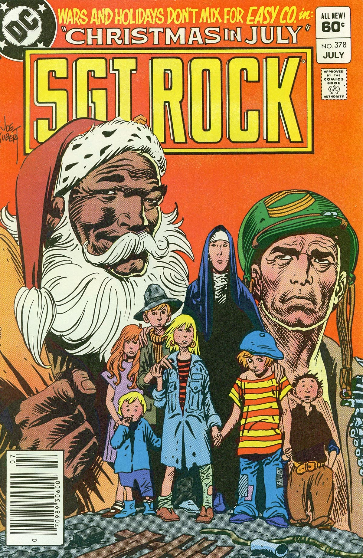 Read online Sgt. Rock comic -  Issue #378 - 1