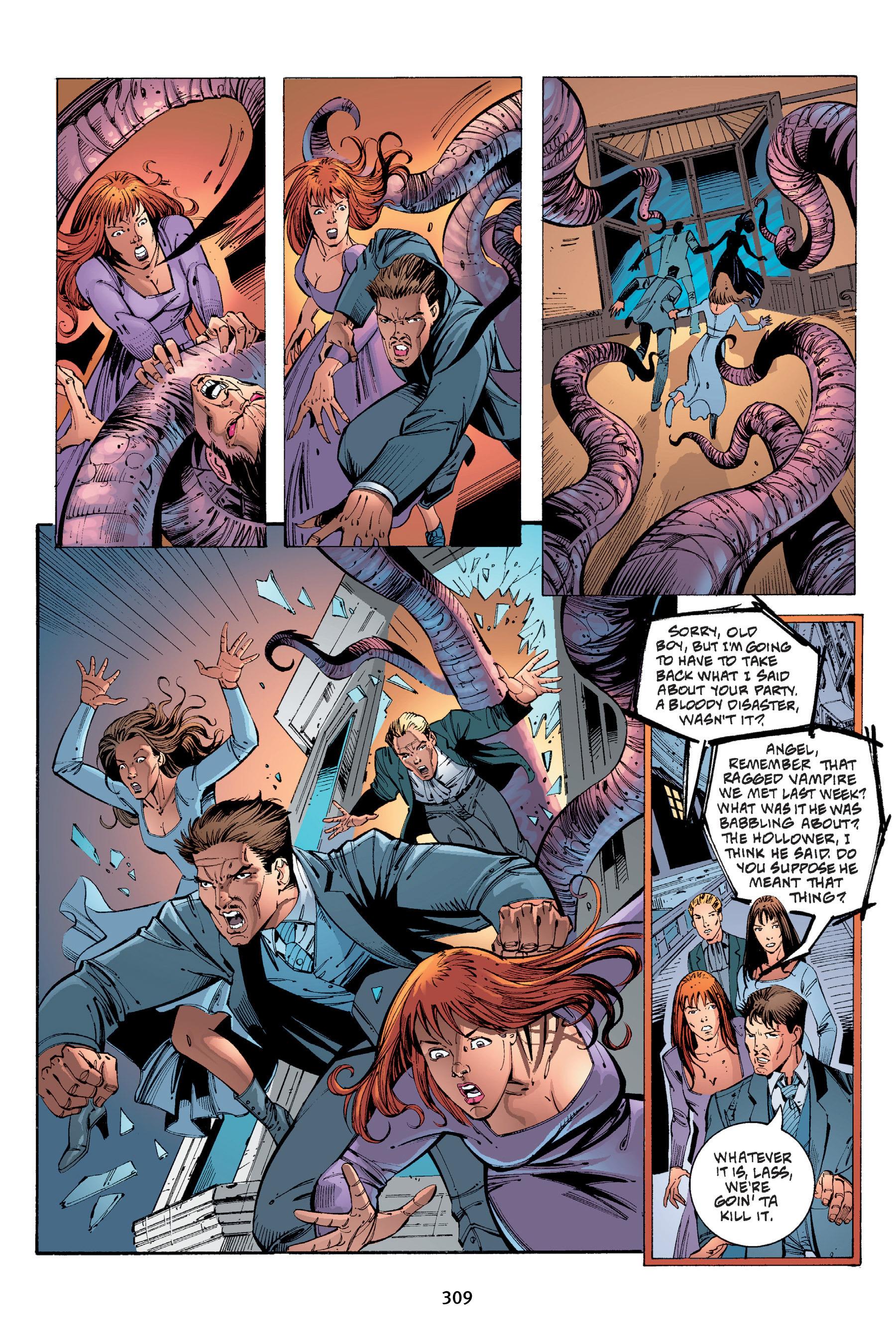 Read online Buffy the Vampire Slayer: Omnibus comic -  Issue # TPB 4 - 306