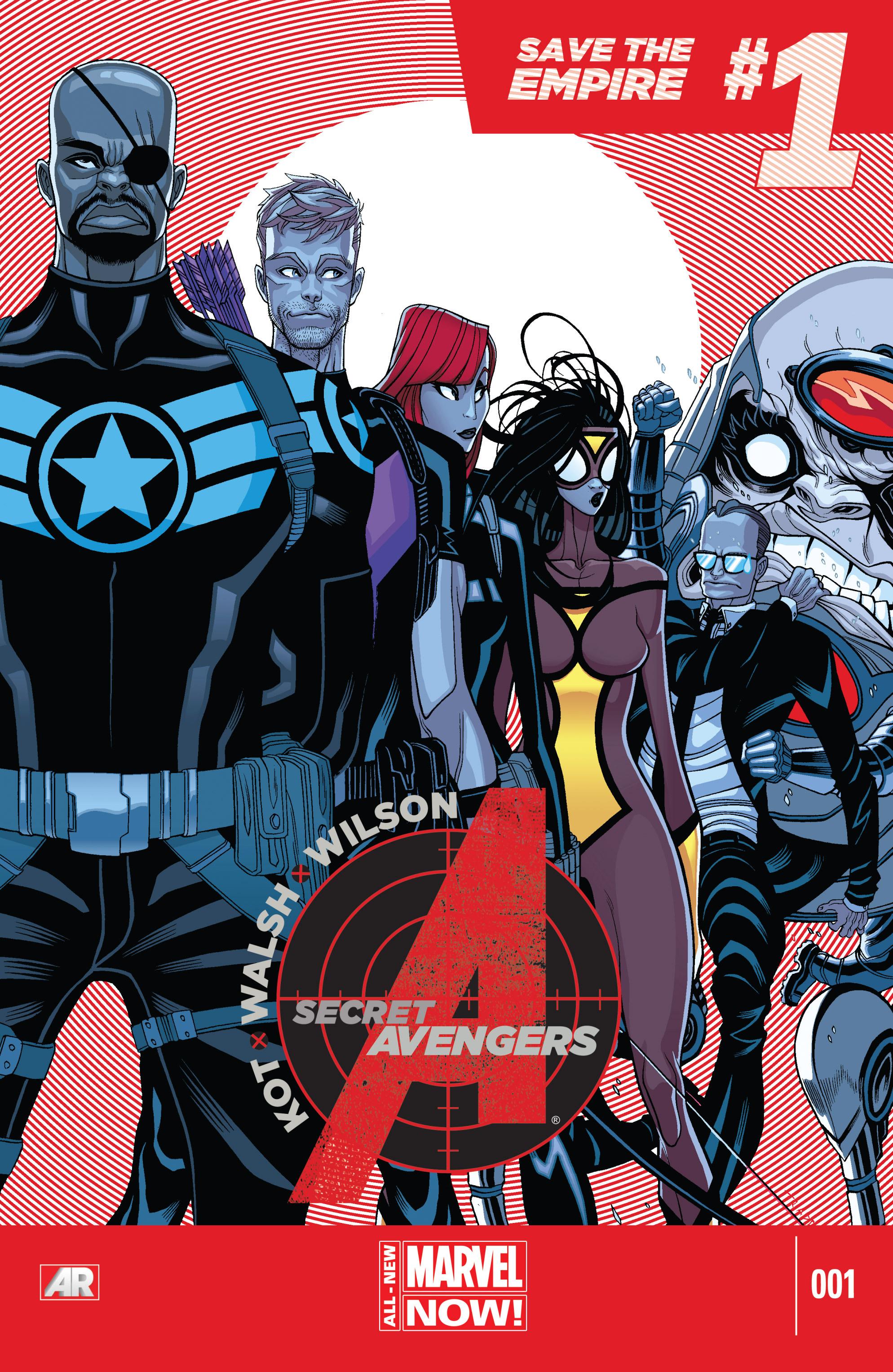 Read online Secret Avengers (2014) comic -  Issue #1 - 1