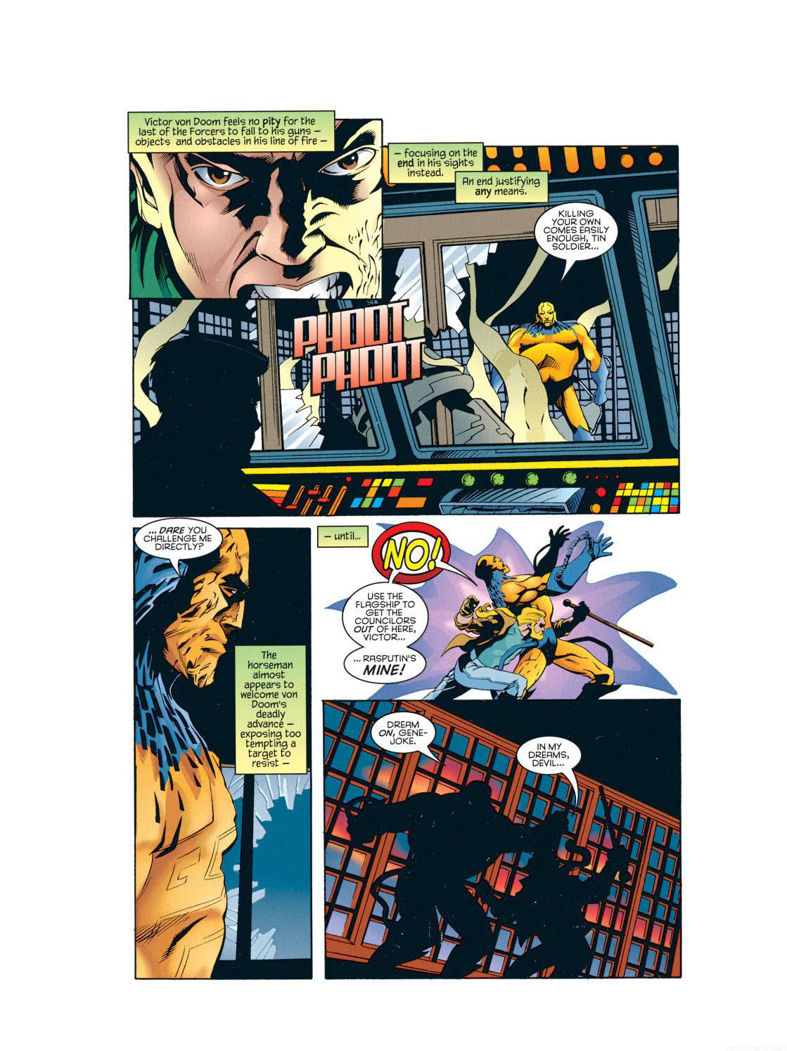 Read online X-Universe comic -  Issue #2 - 26