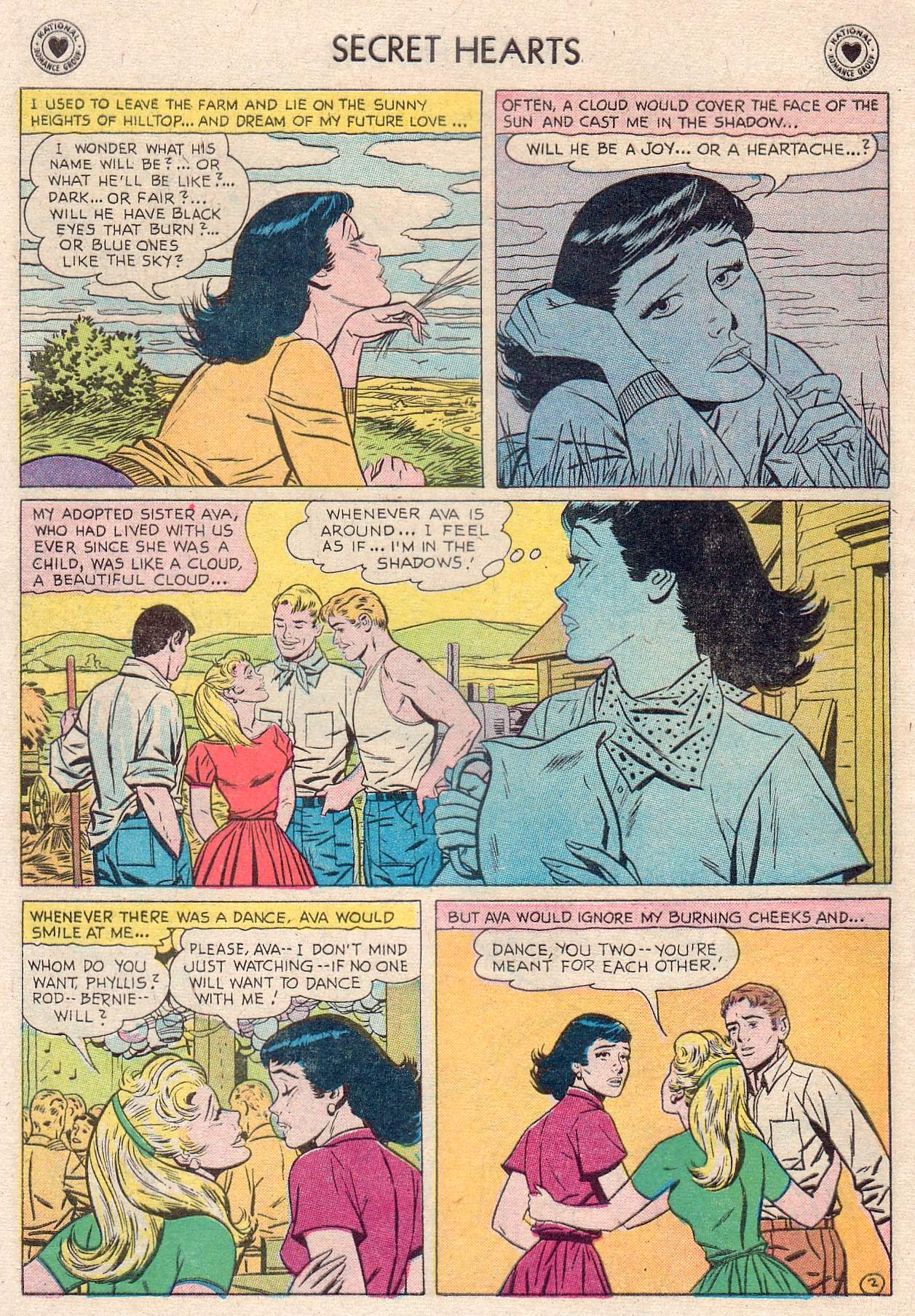 Read online Secret Hearts comic -  Issue #46 - 28