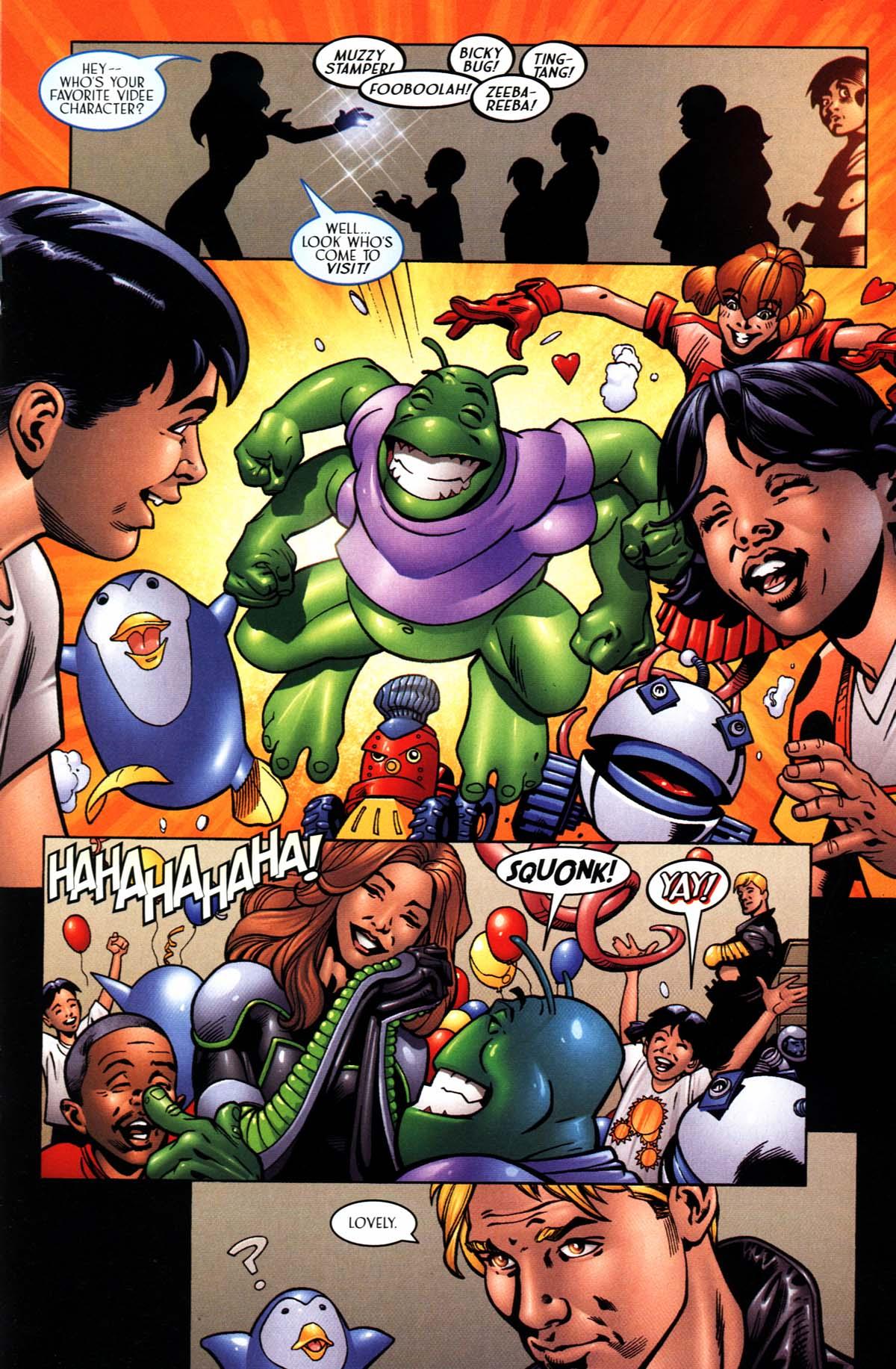 Read online Sigil (2000) comic -  Issue #24 - 21