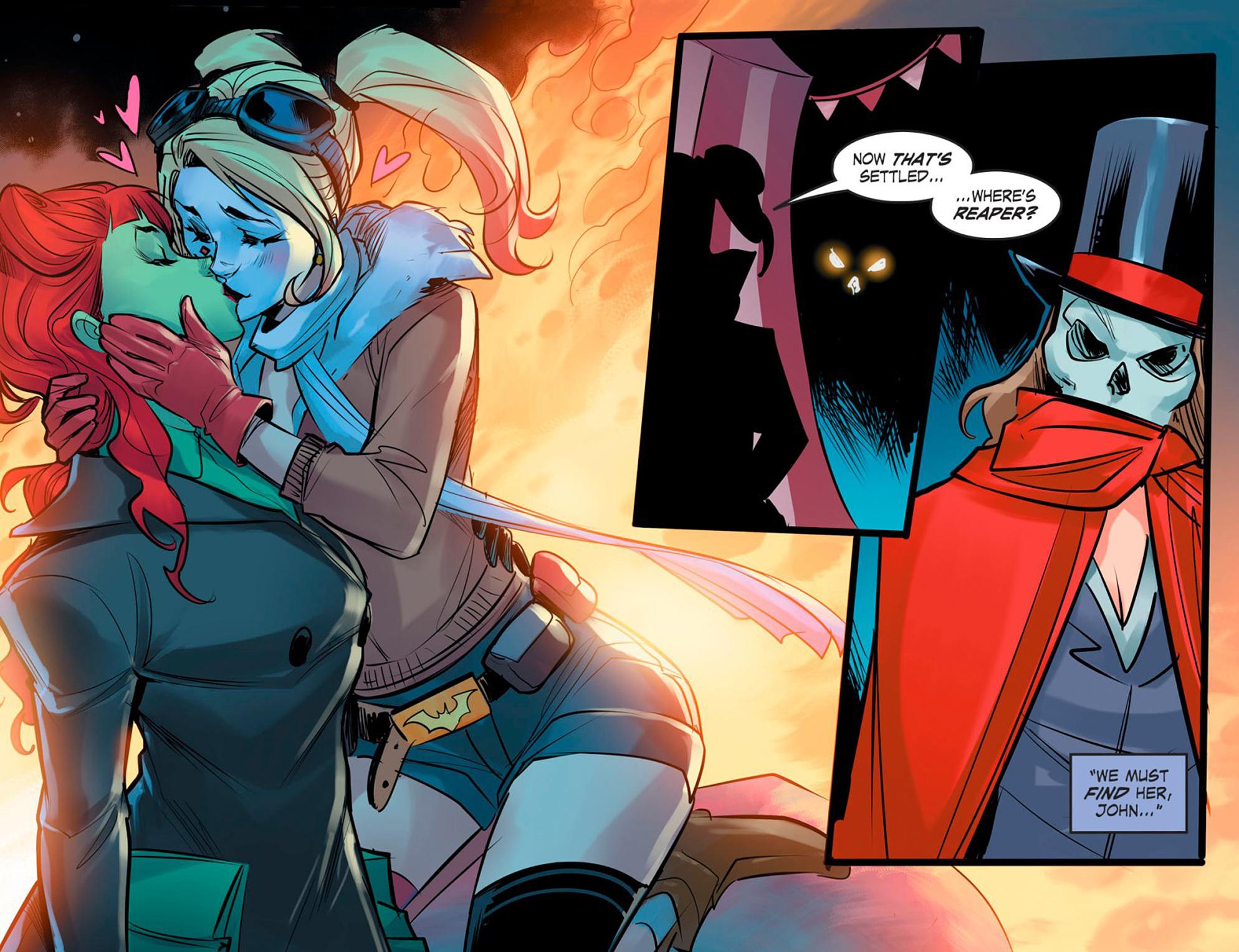 Read online DC Comics: Bombshells comic -  Issue #95 - 17