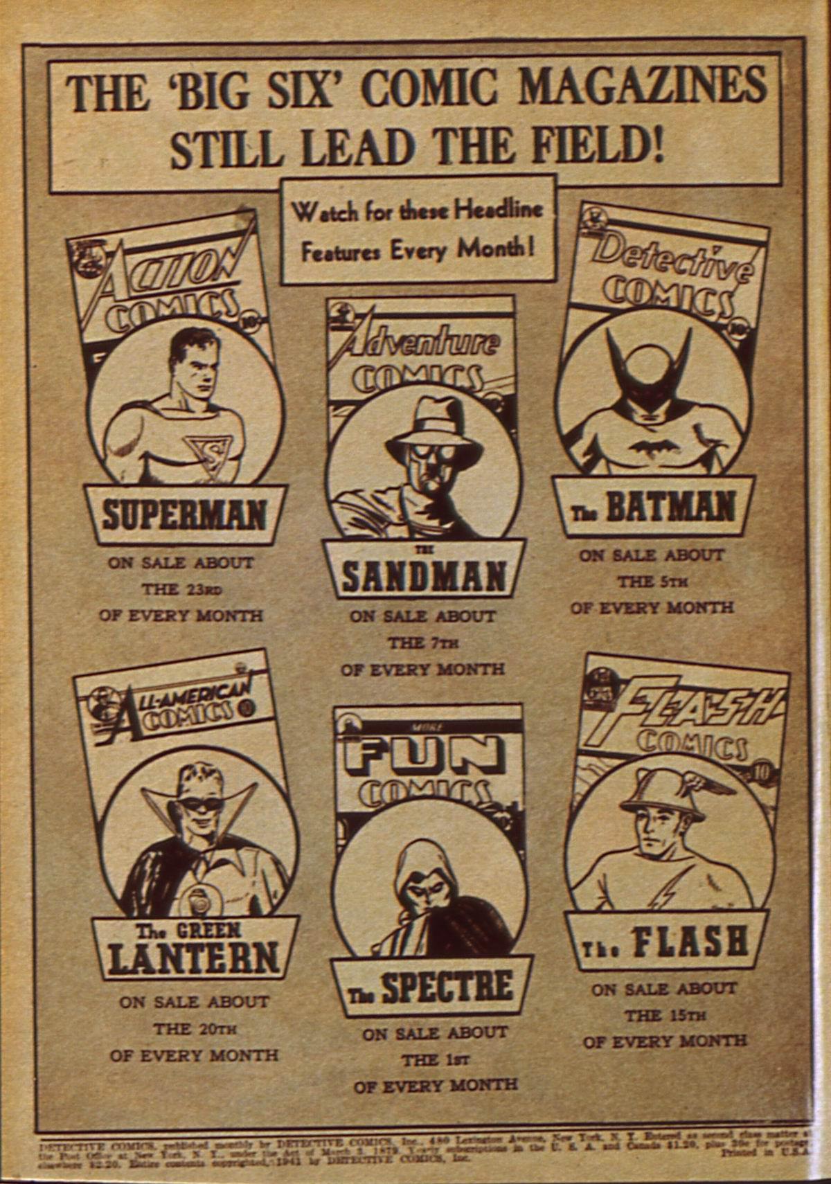 Read online Detective Comics (1937) comic -  Issue #49 - 2