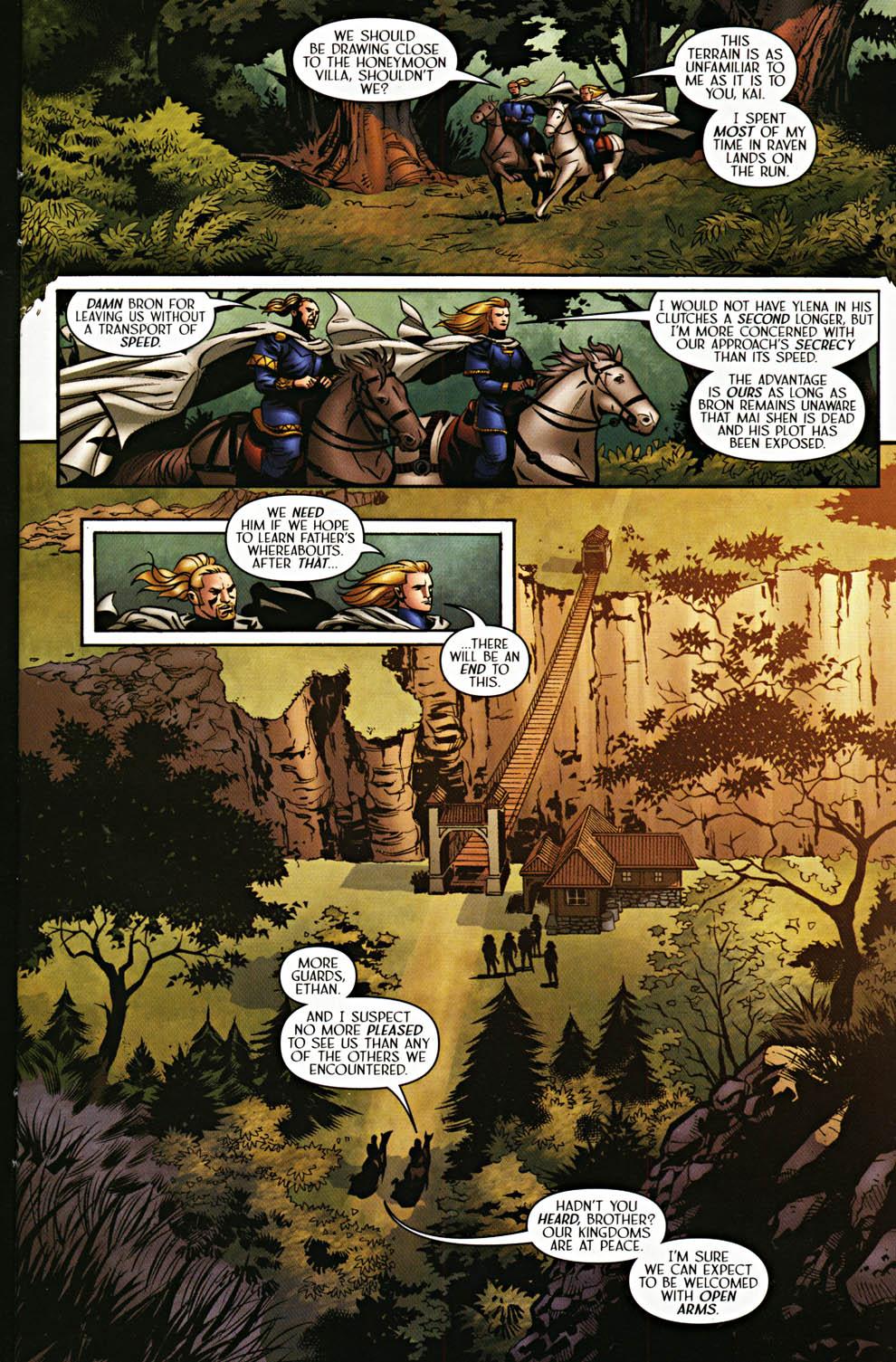 Read online Scion comic -  Issue #37 - 7