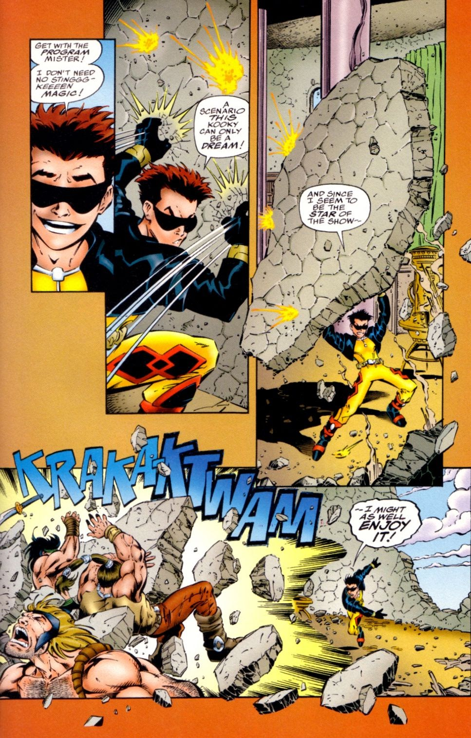 Read online Randy O'Donnell is The M@N comic -  Issue #1 - 17