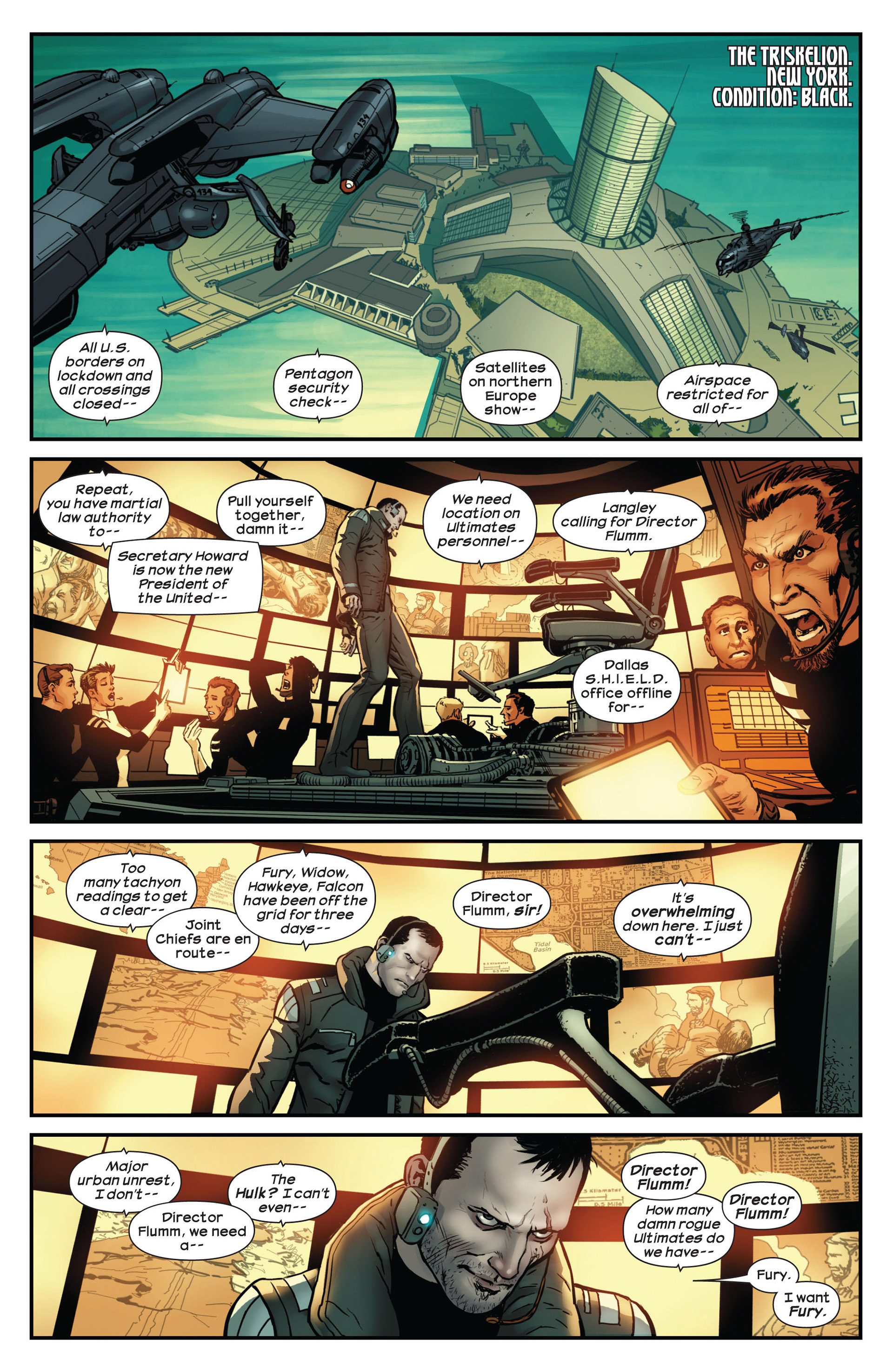 Read online Ultimate Comics Ultimates comic -  Issue #10 - 9