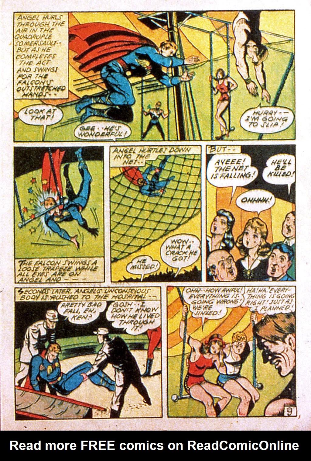 Read online Mystic Comics (1944) comic -  Issue #1 - 11