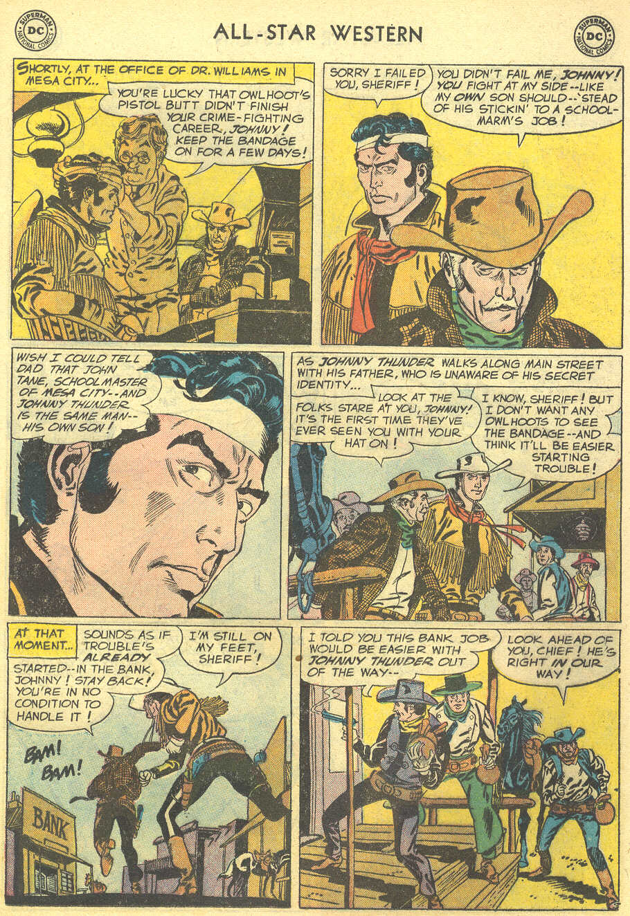 Read online All-Star Western (1951) comic -  Issue #95 - 13