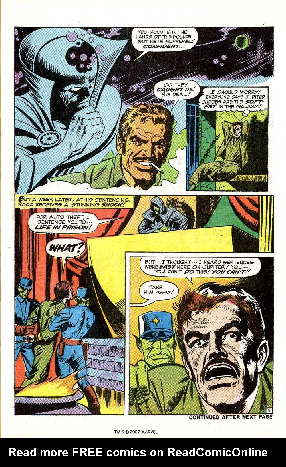 Read online Silver Surfer (1968) comic -  Issue #5 - 55
