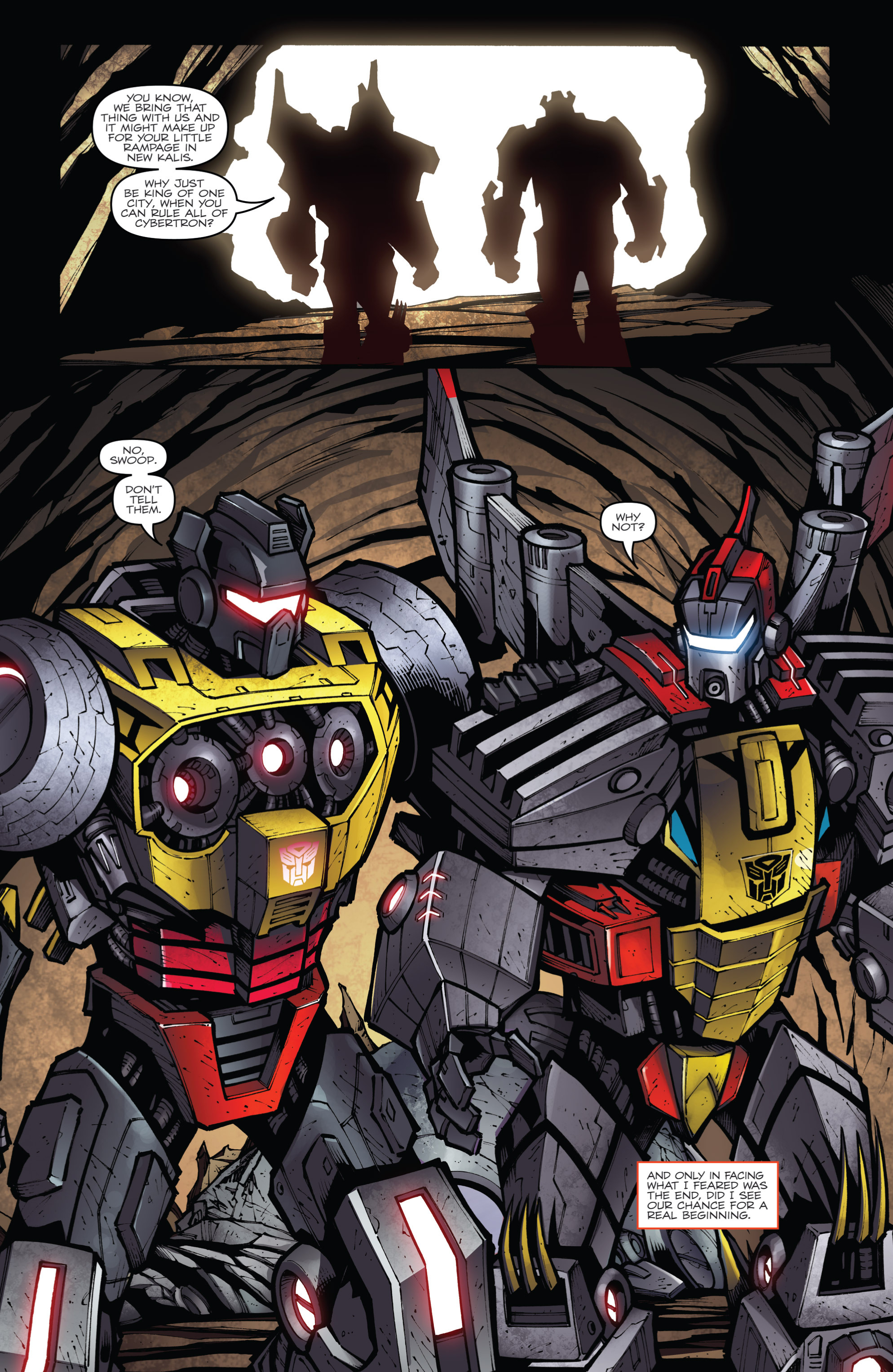 Read online Transformers Prime: Beast Hunters comic -  Issue #6 - 23