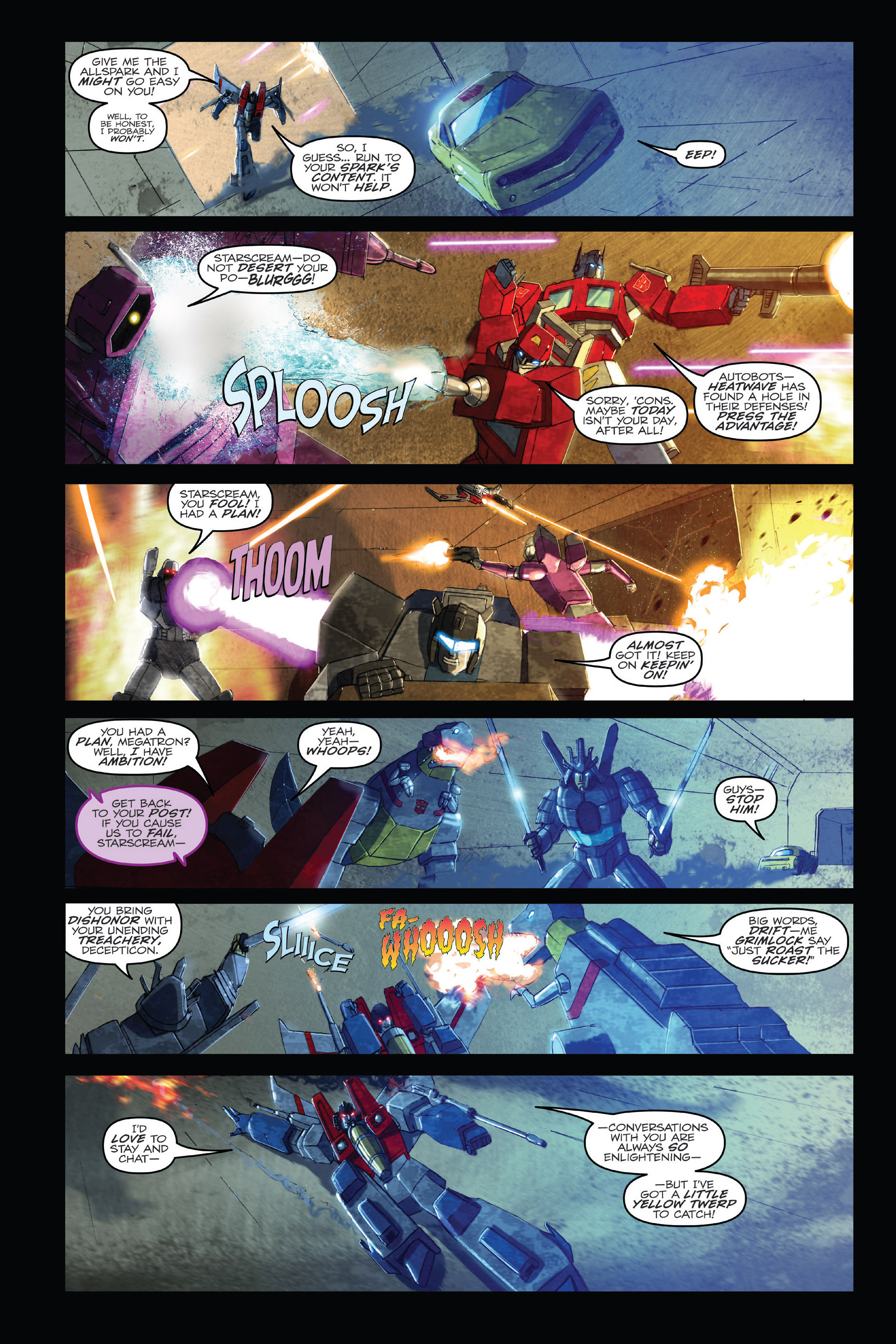 Read online Angry Birds Transformers: Age of Eggstinction comic -  Issue # Full - 8