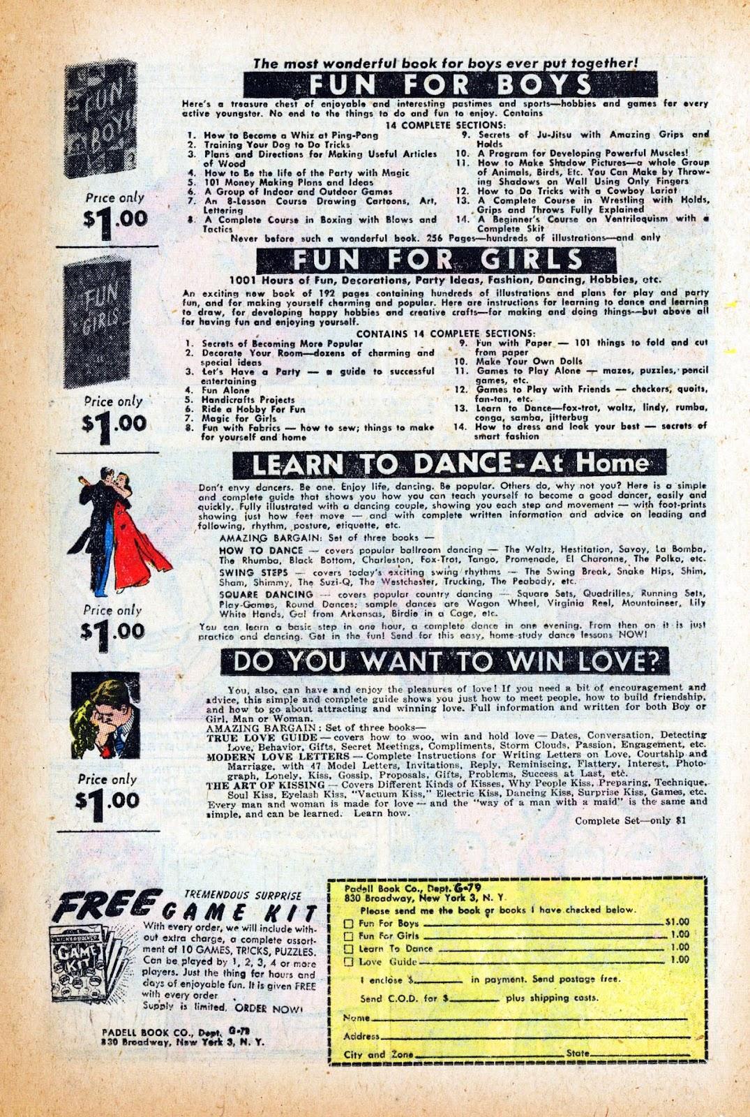 Love Romances (1949) issue 47 - Page 13