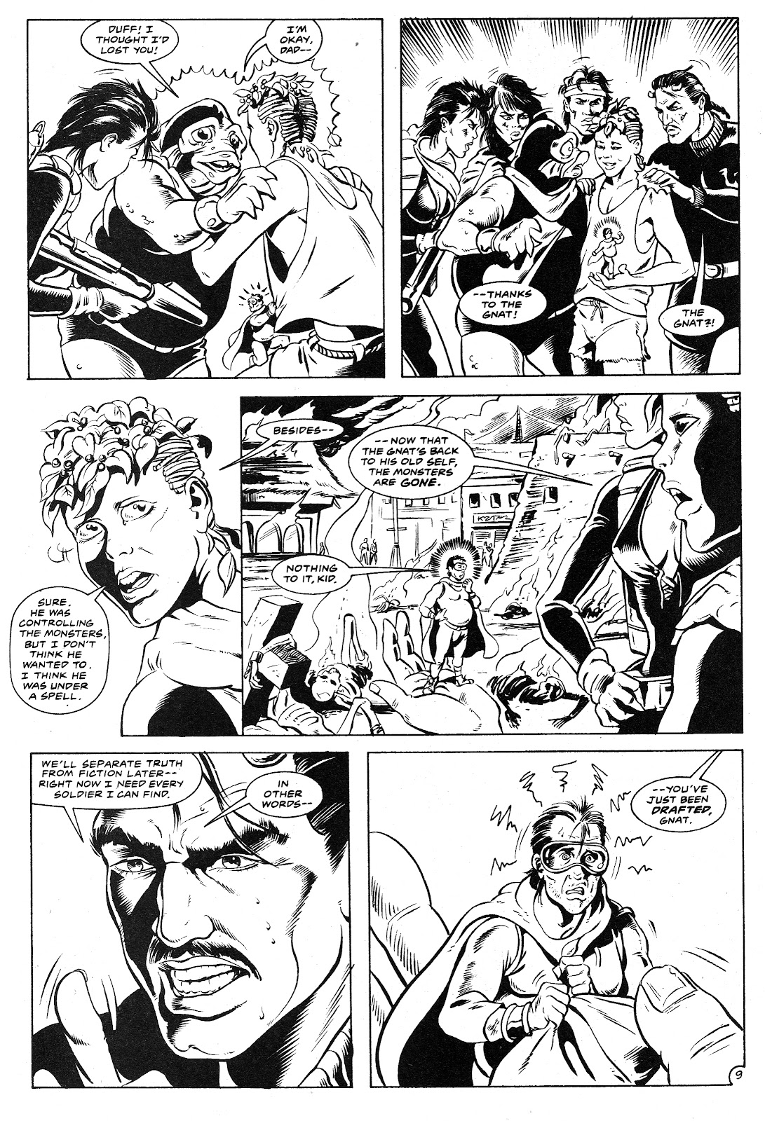Ex-Mutants: The Shattered Earth Chronicles issue 9 - Page 11
