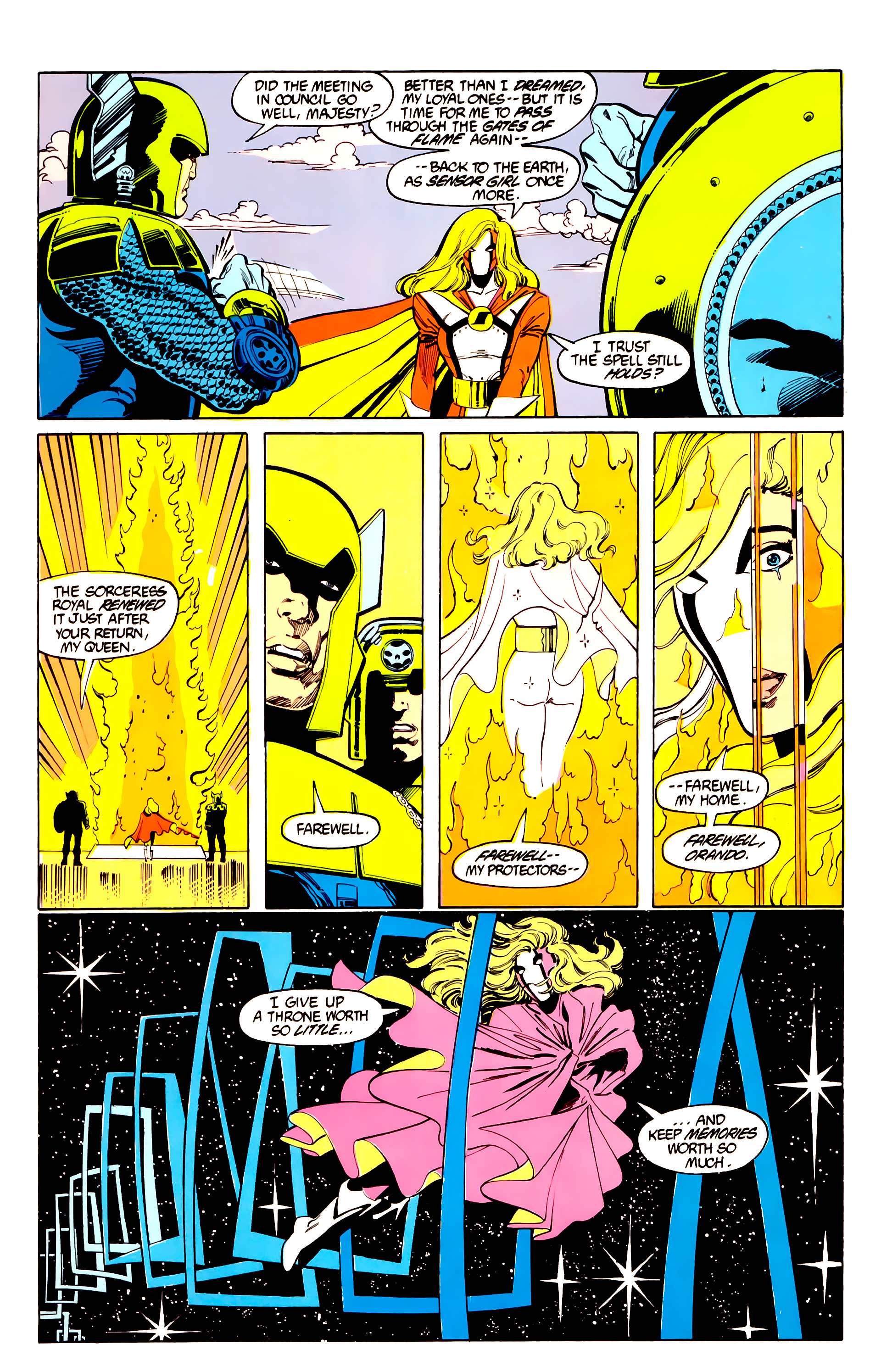 Legion of Super-Heroes (1984) 27 Page 6