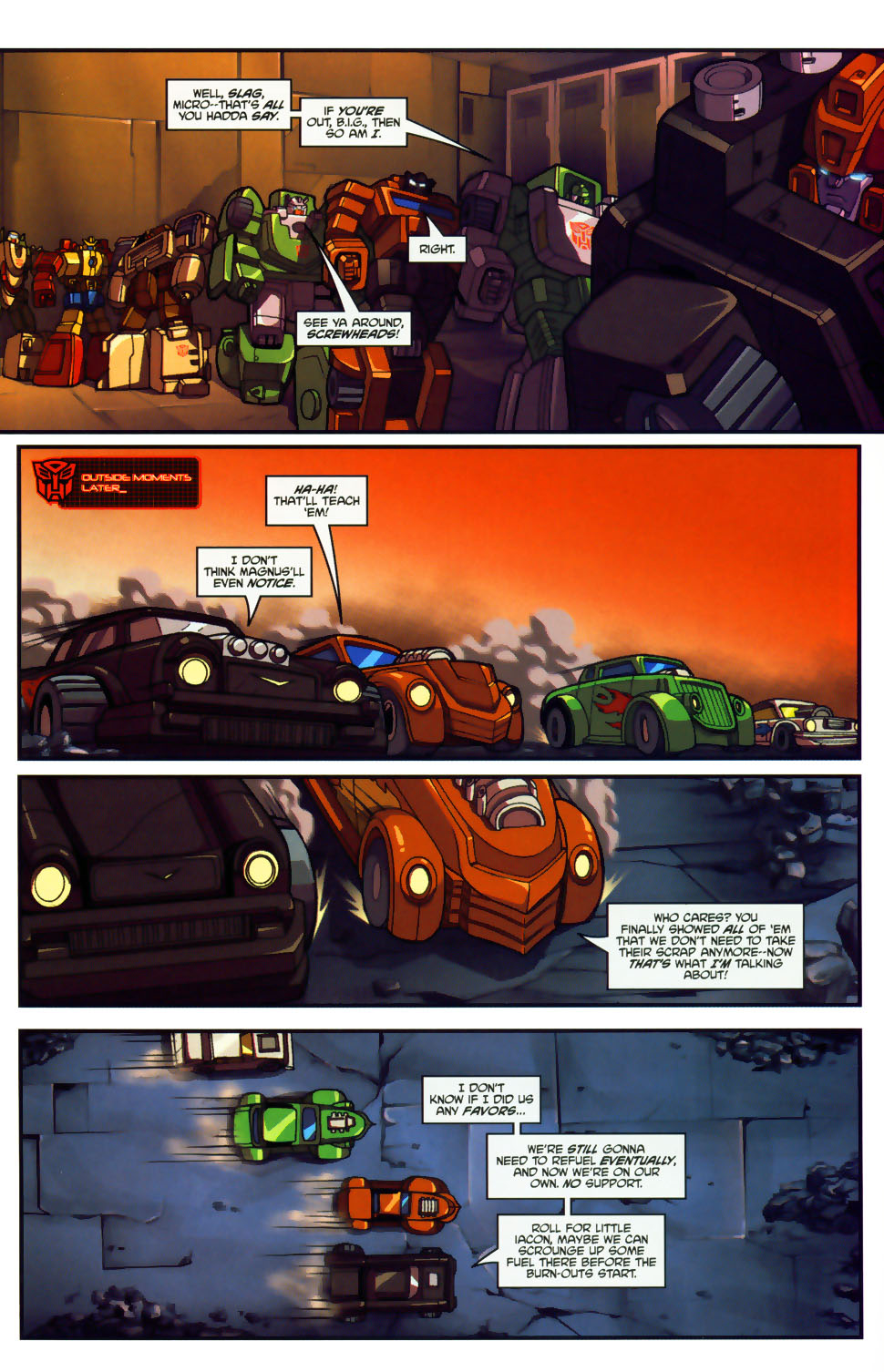Read online Transformers: Micromasters comic -  Issue #1 - 21