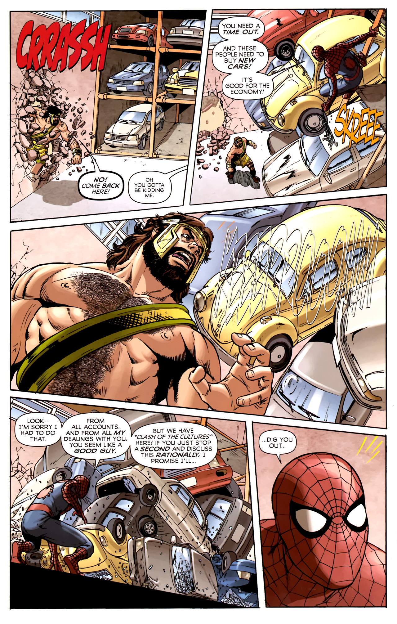 Read online Assault on New Olympus Prologue comic -  Issue #Assault on New Olympus Prologue Full - 22