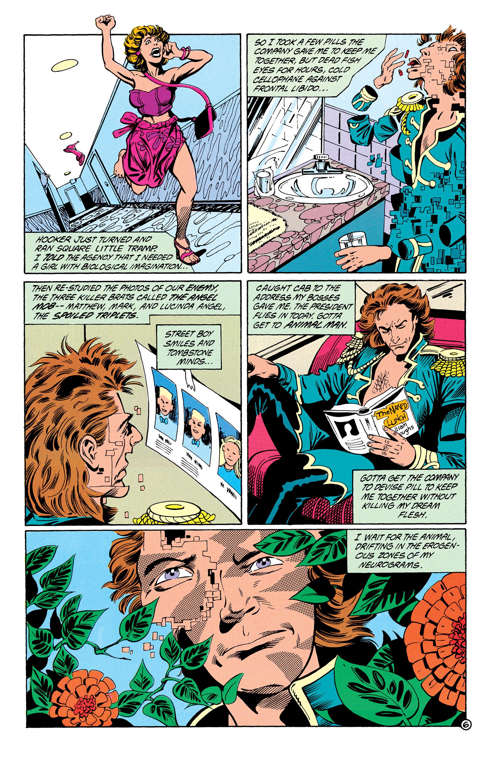 Read online Animal Man (1988) comic -  Issue #28 - 7