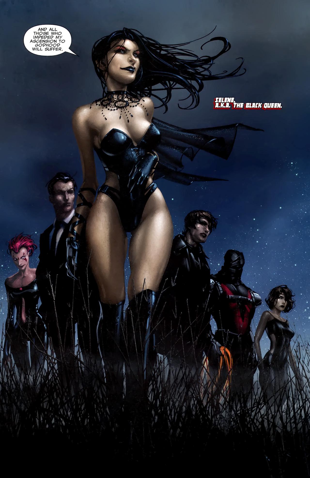 Read online X Necrosha comic -  Issue # Full - 7
