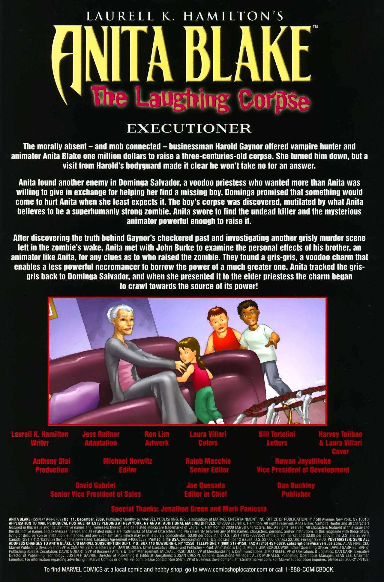 Read online Anita Blake: The Laughing Corpse - Executioner comic -  Issue #1 - 3