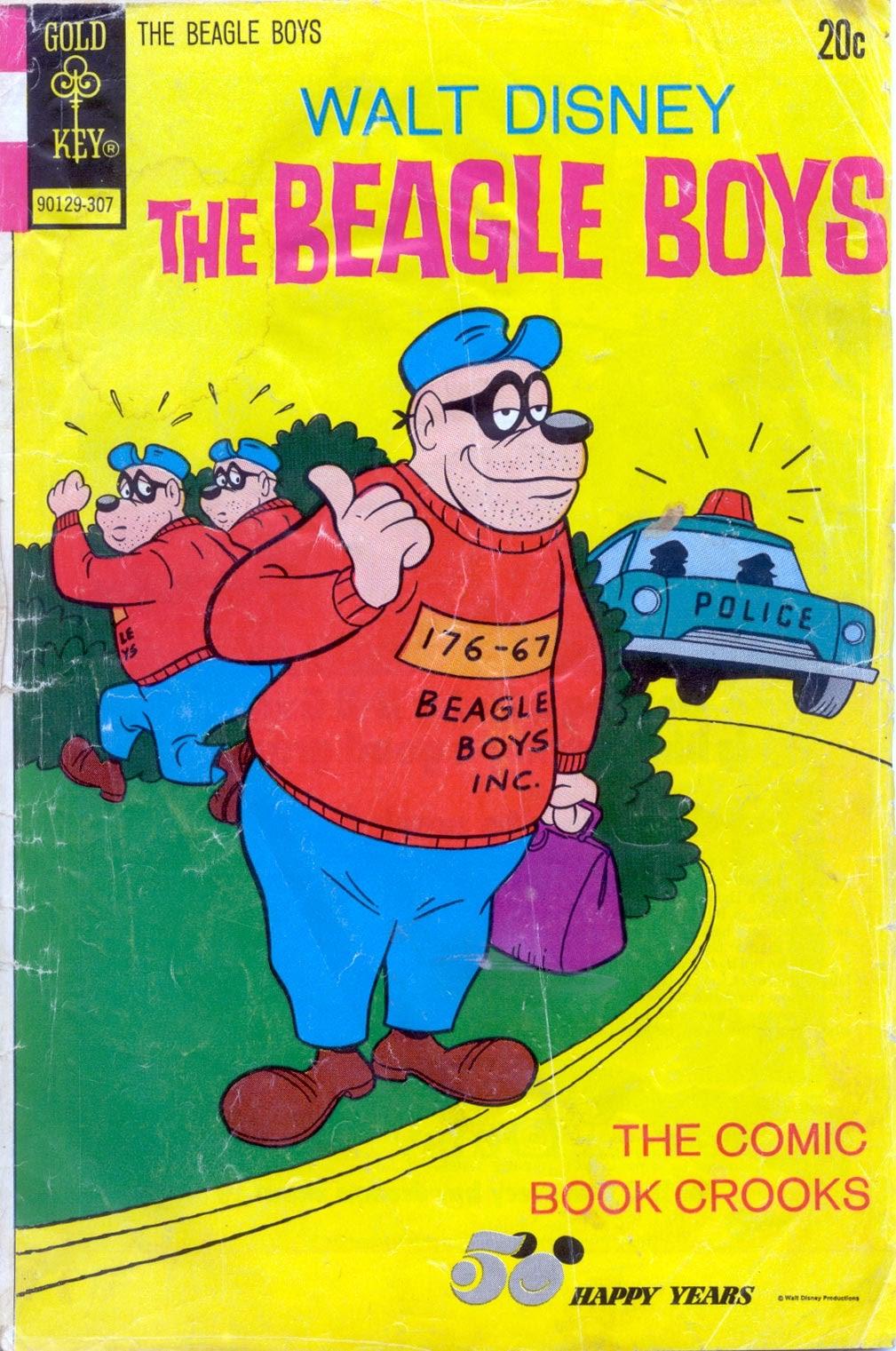 Walt Disney THE BEAGLE BOYS issue 17 - Page 1
