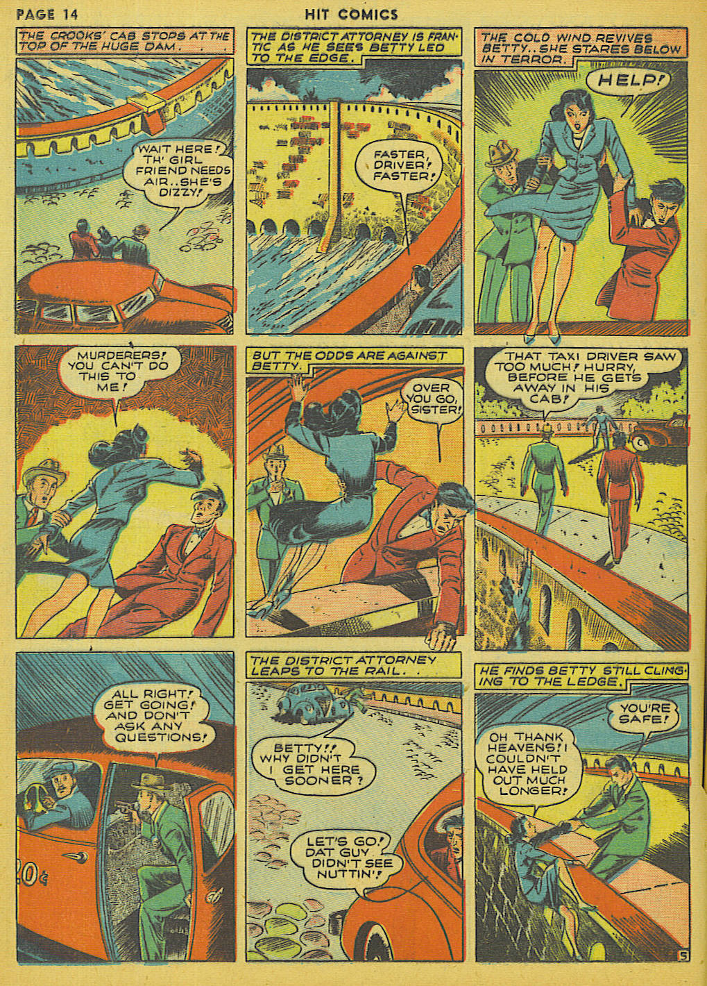 Read online Hit Comics comic -  Issue #13 - 16