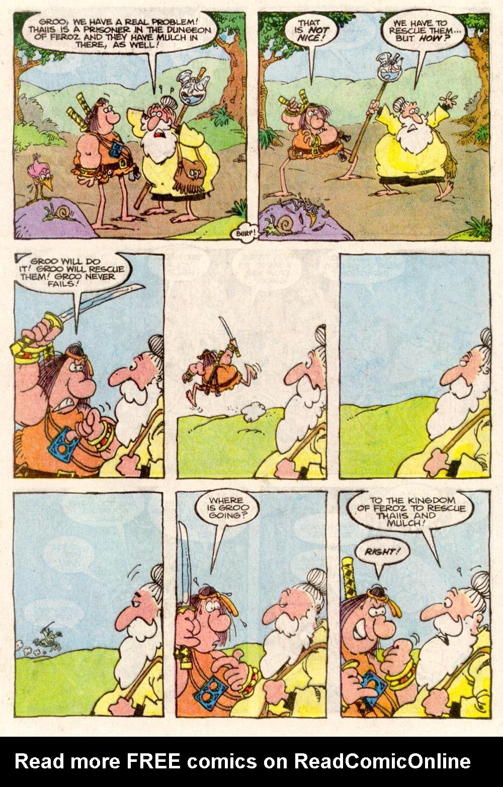 Read online Sergio Aragonés Groo the Wanderer comic -  Issue #82 - 12