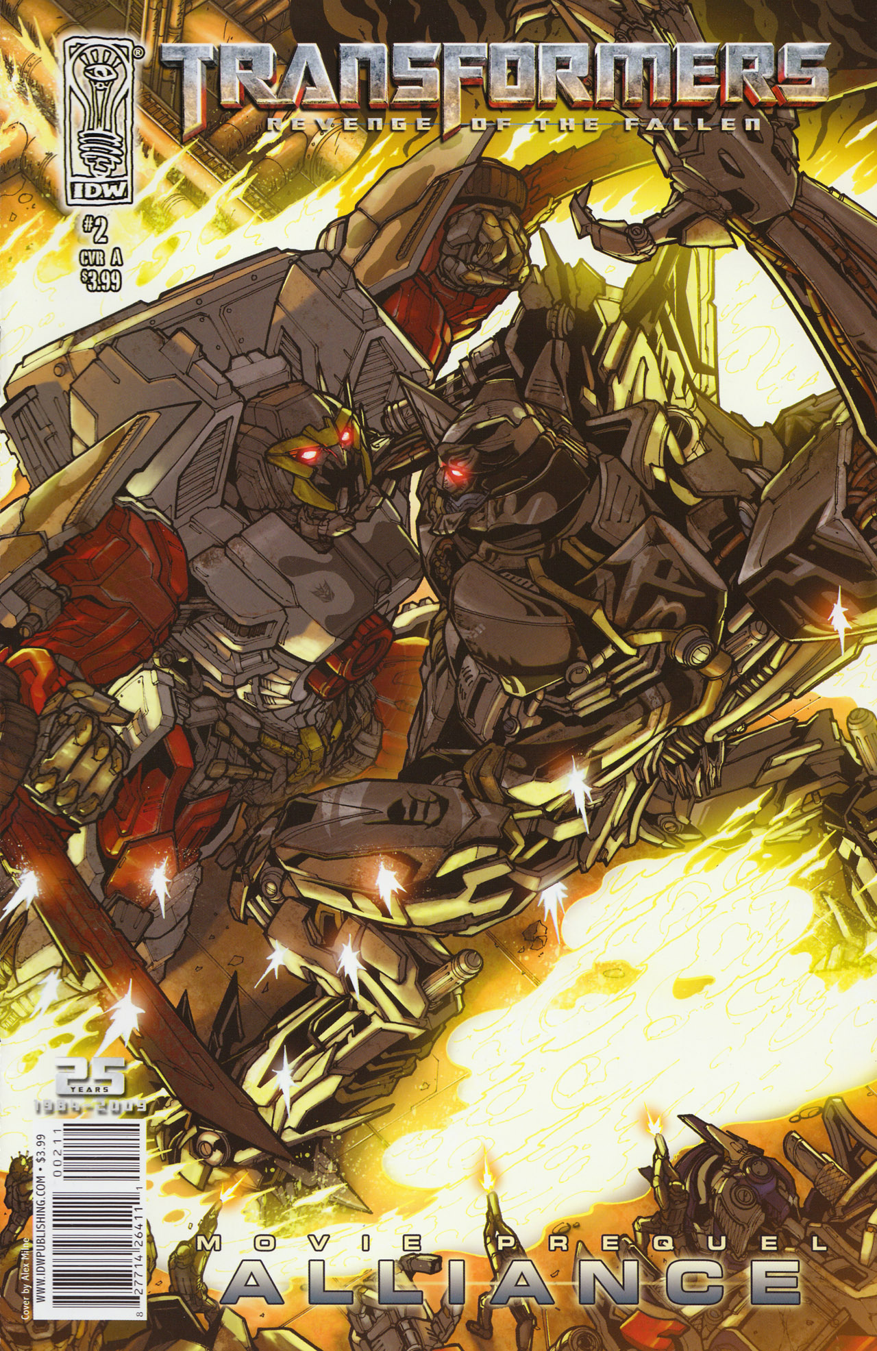 Read online Transformers: Alliance comic -  Issue #2 - 1