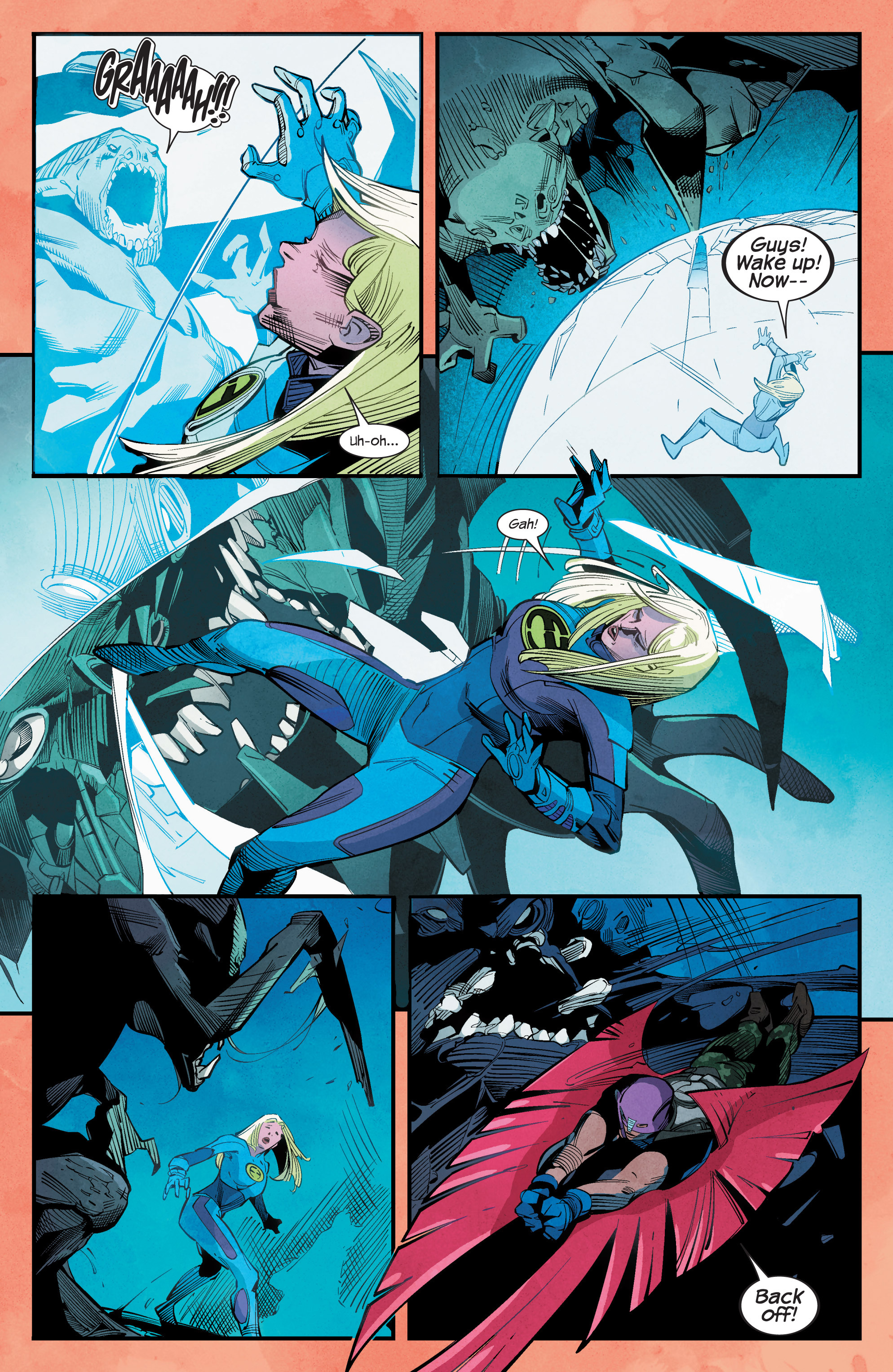 Read online Ultimate FF comic -  Issue #1 - 14