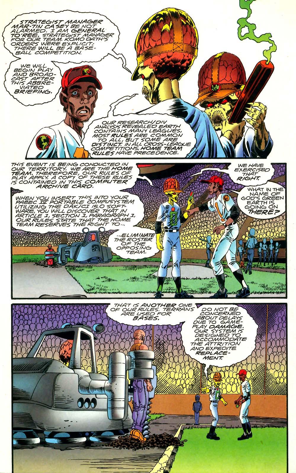 Read online Mars Attacks Baseball Special comic -  Issue # Full - 5
