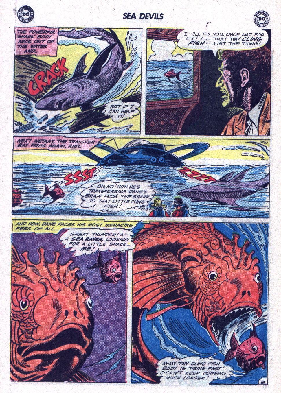 Read online Sea Devils comic -  Issue #19 - 28