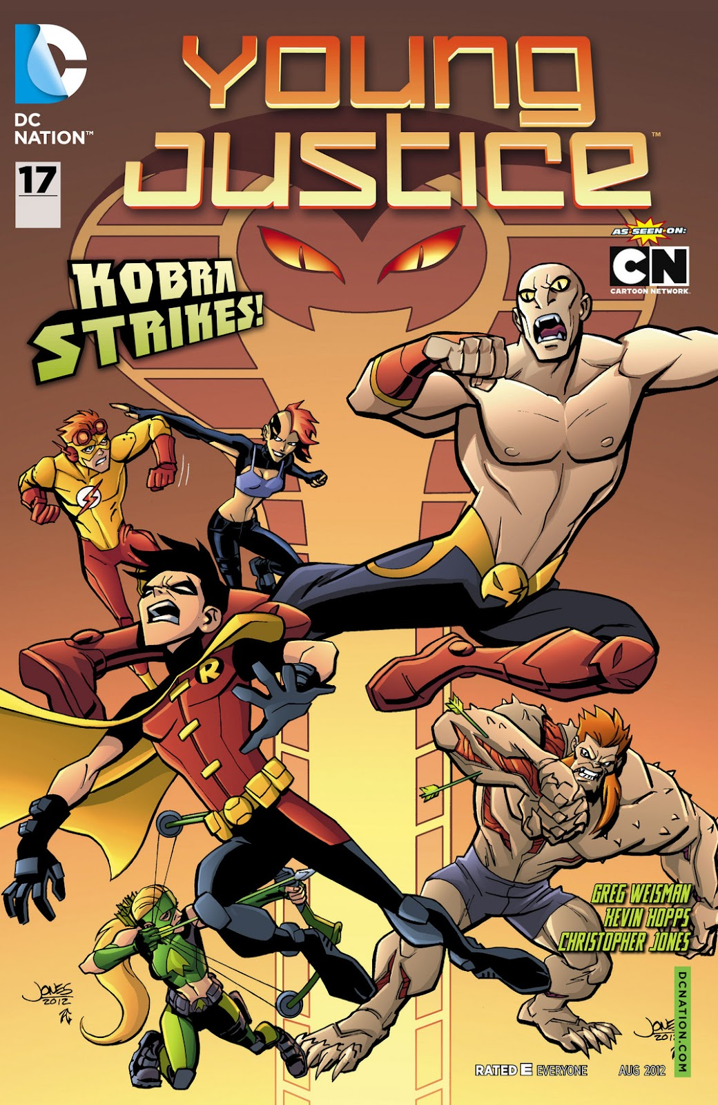 Young Justice (2011) issue 17 - Page 1