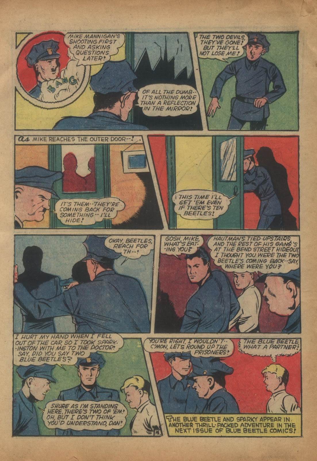 The Blue Beetle issue 15 - Page 34