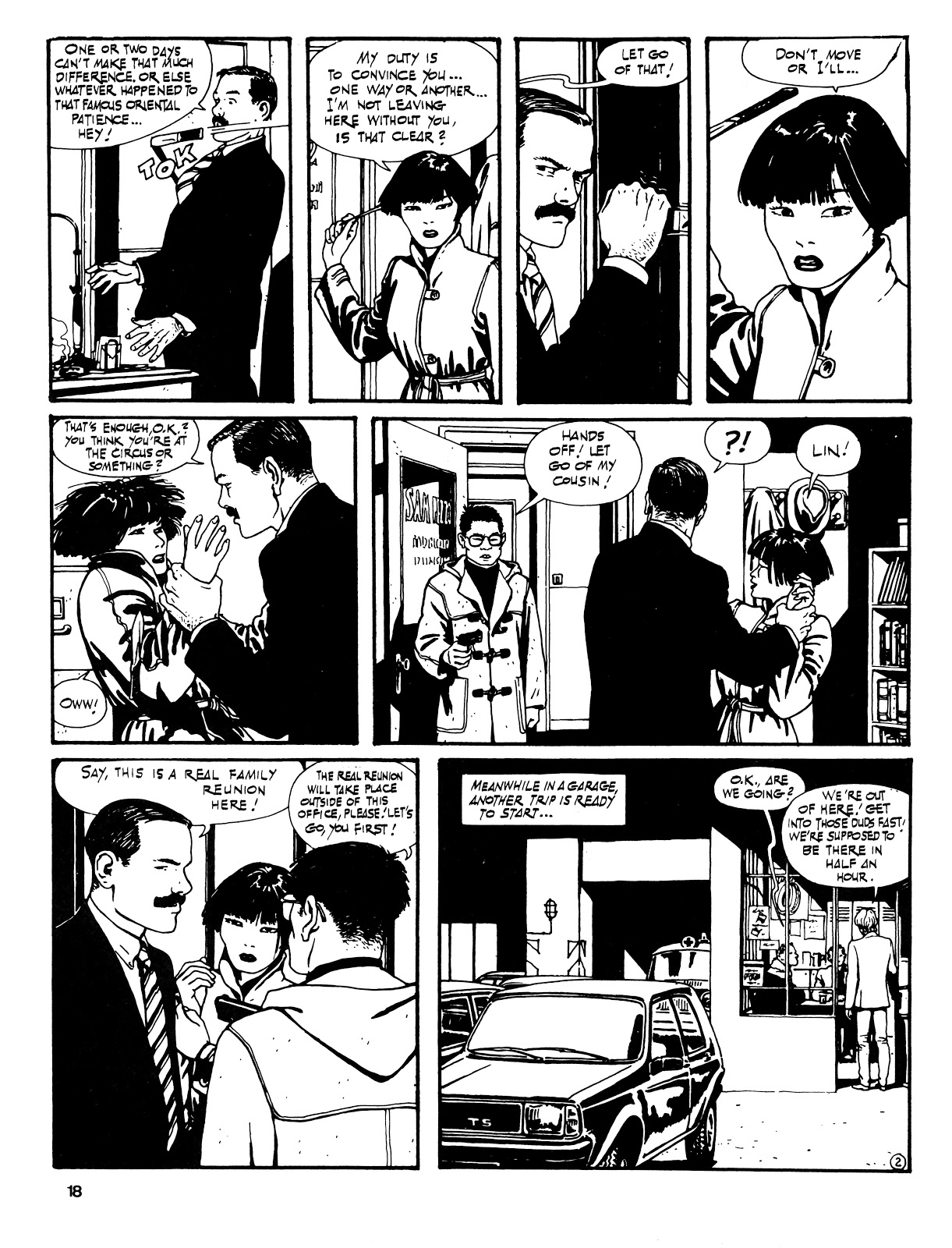 Read online Cases from the Files of Sam Pezzo, P.I. comic -  Issue # Full - 19