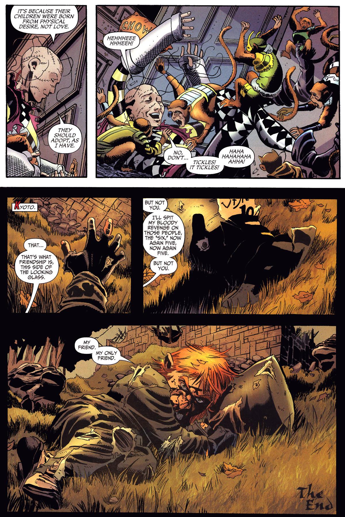 Read online Secret Six (2006) comic -  Issue #6 - 23