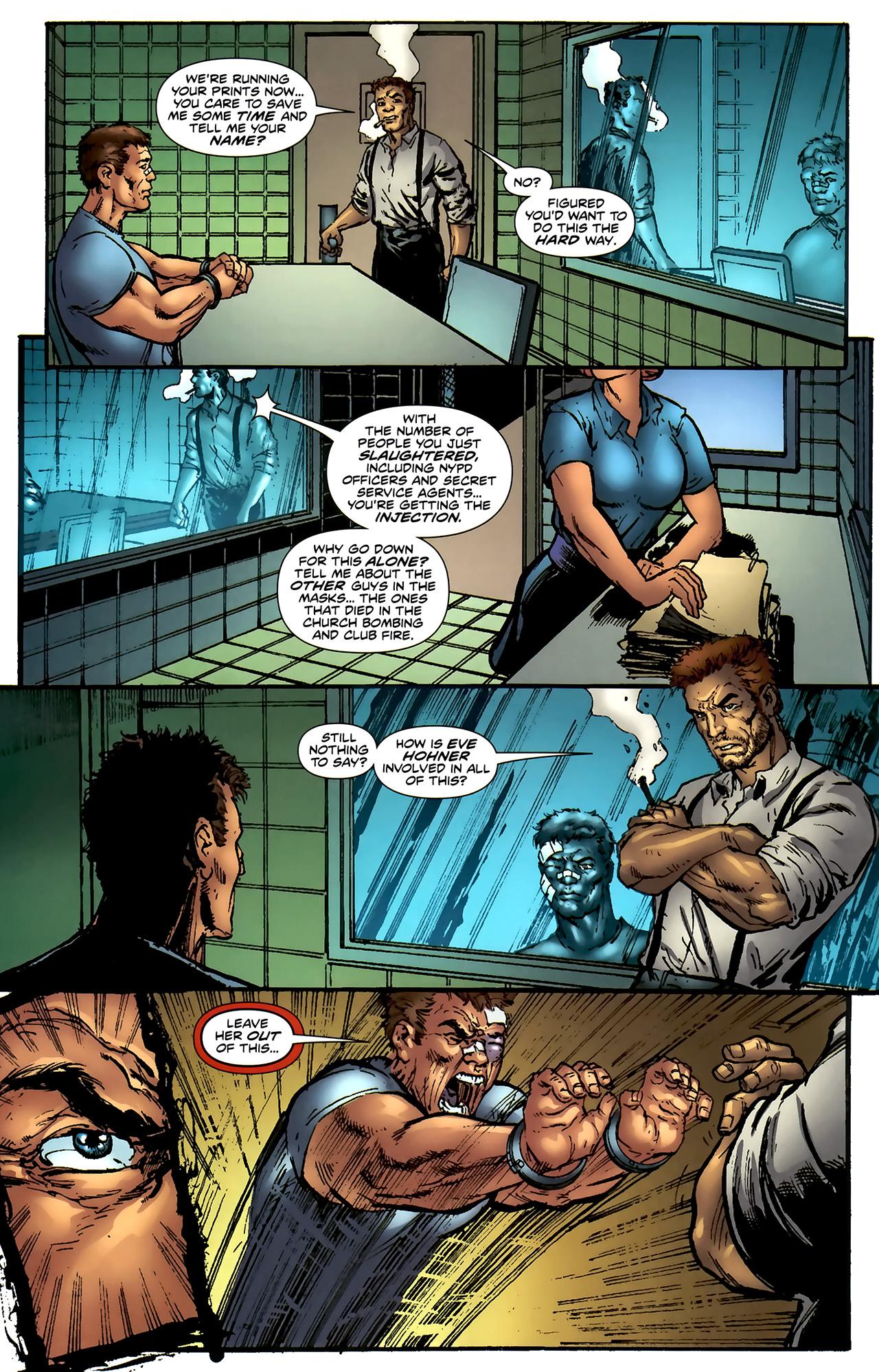 Read online ShadowHawk (2010) comic -  Issue #4 - 11